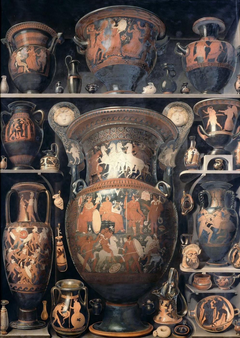 Alexander-Isidore Leroy de Bard. Greek and Etruscan Vases