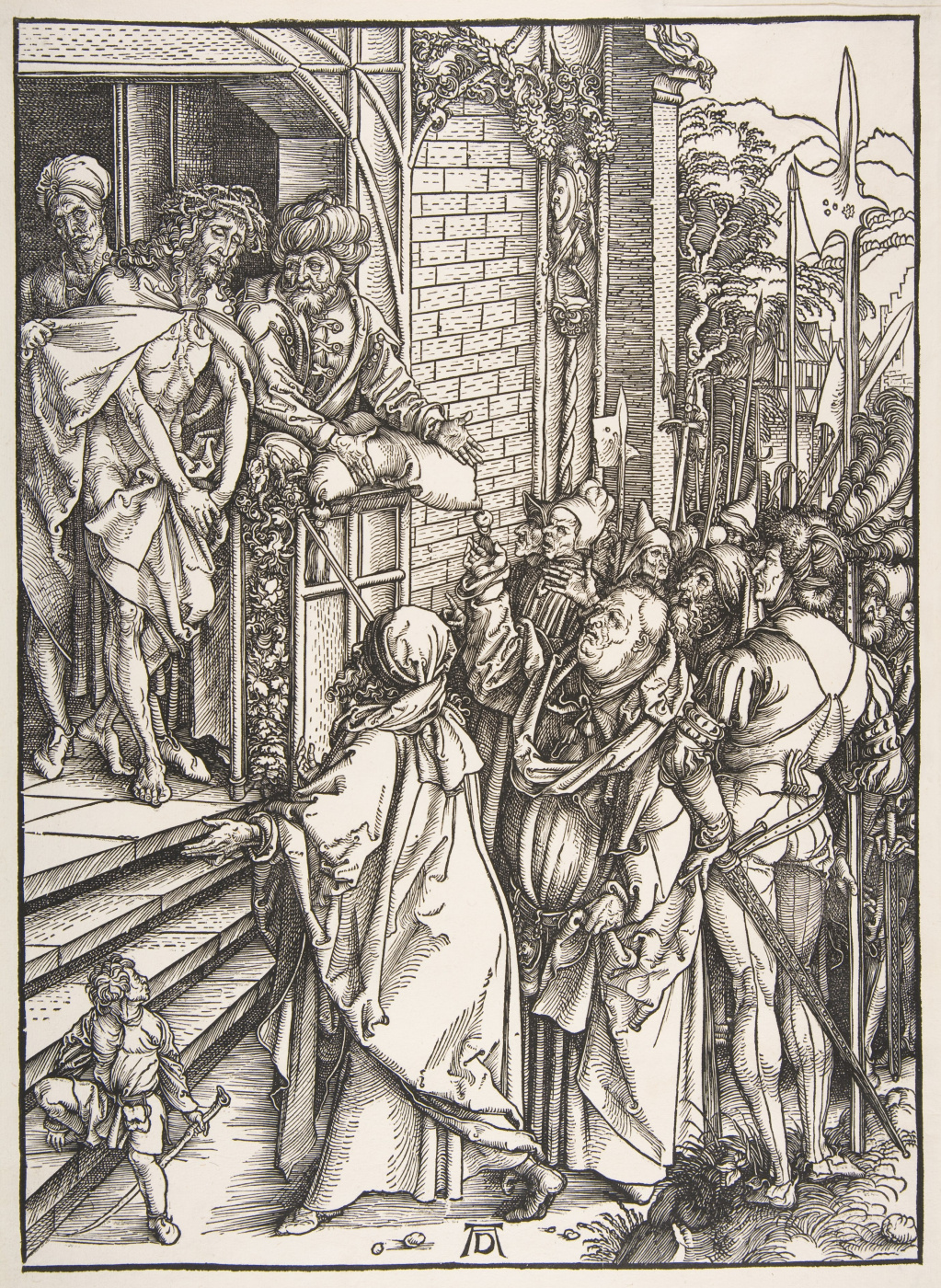 Albrecht Dürer. Behold the man