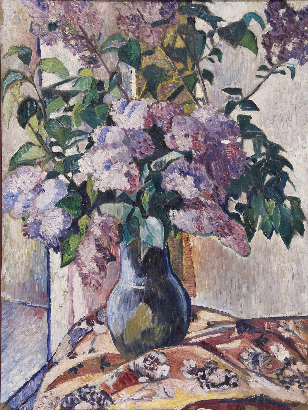 Natalia Goncharova. Lilac