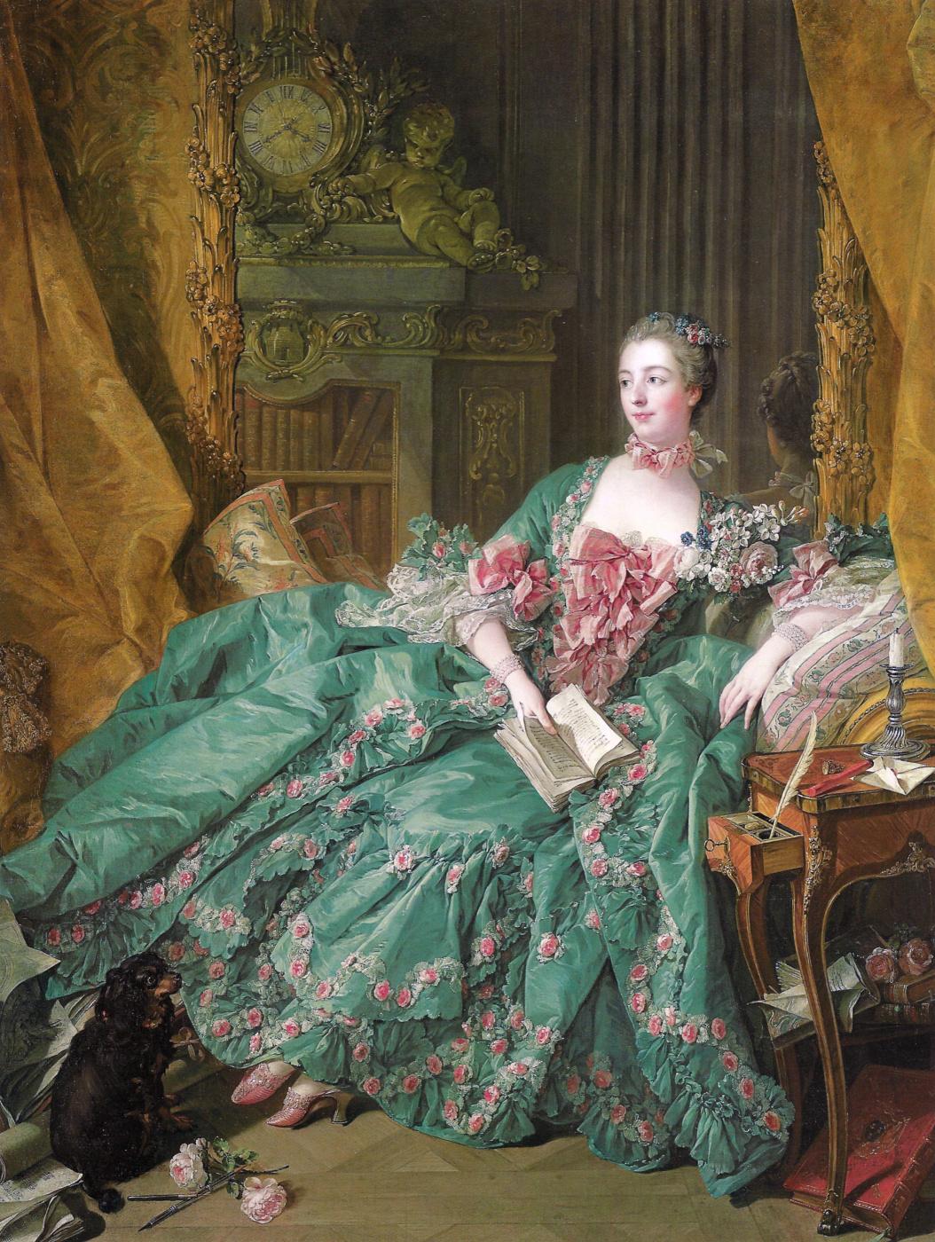Roxana Golubeva. Francois Boucher - Portrait of Madame de Pompadour