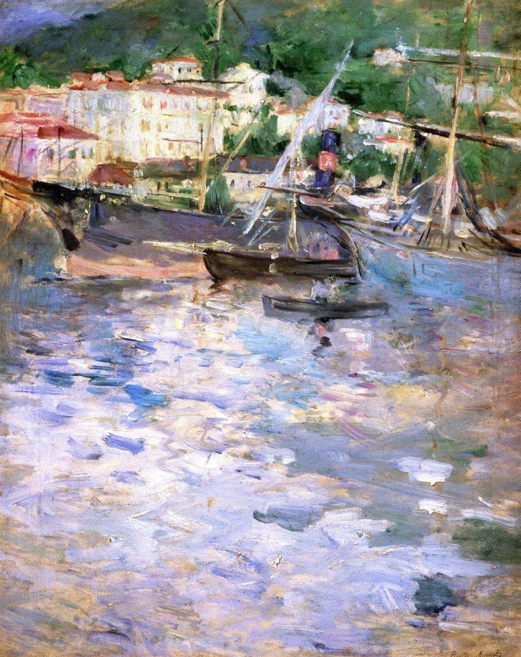 Berthe Morisot. Port of nice