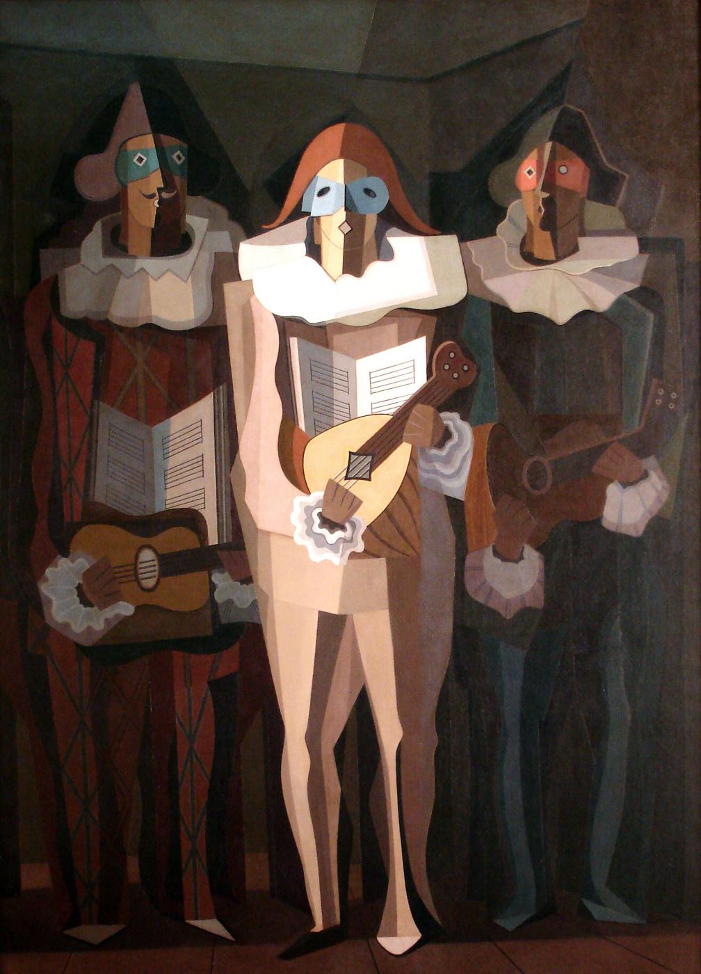 Emilio Pettoruti. The improviser
