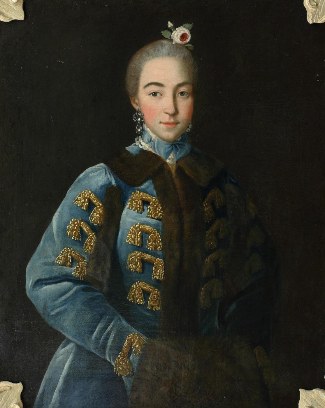 Ivan Petrovich Argunov. Portrait of A.P. Sheremeteva, the eldest daughter of P. B. Sheremetev