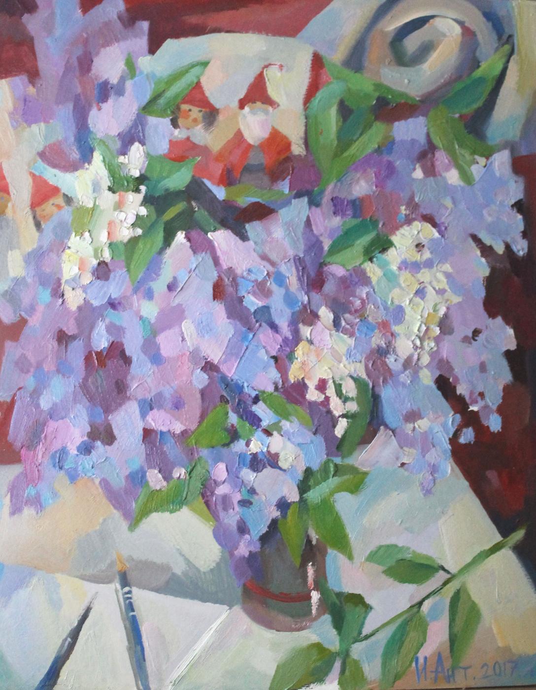 Irina Valerievna Antonovskaya. Lilac