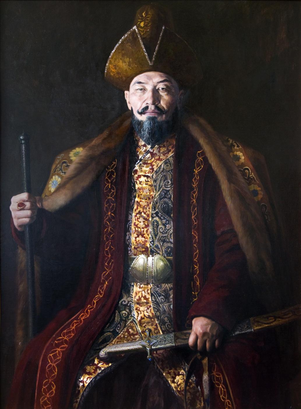 Pavel Gennadievich Dragunov. Ablai Khan