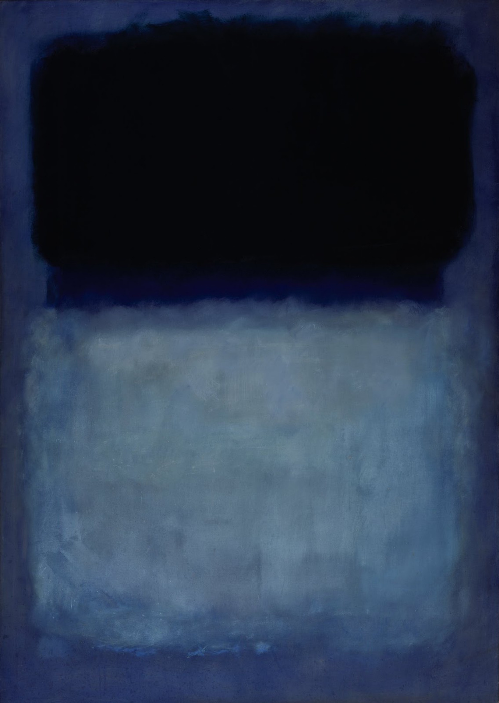 Rothko Mark. Untitled (Green on blue)