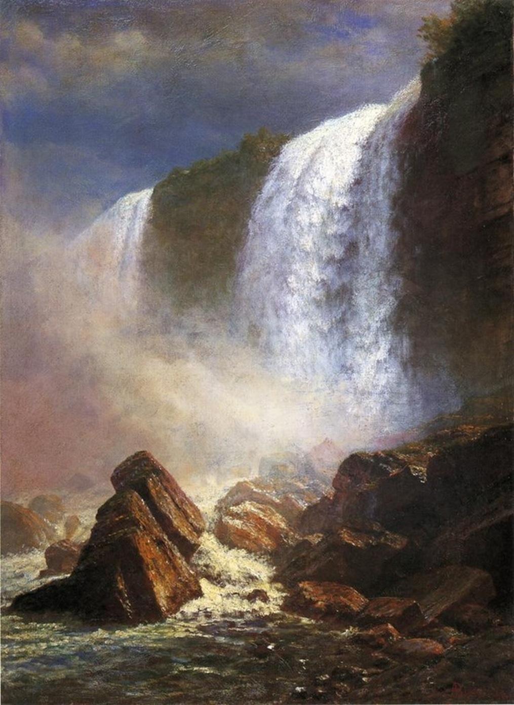 Albert Birštadt. Niagara Falls