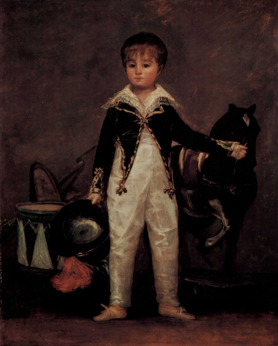 Francisco Goya. Portrait Jose Costa-and-Monalisa nicknamed Pepito