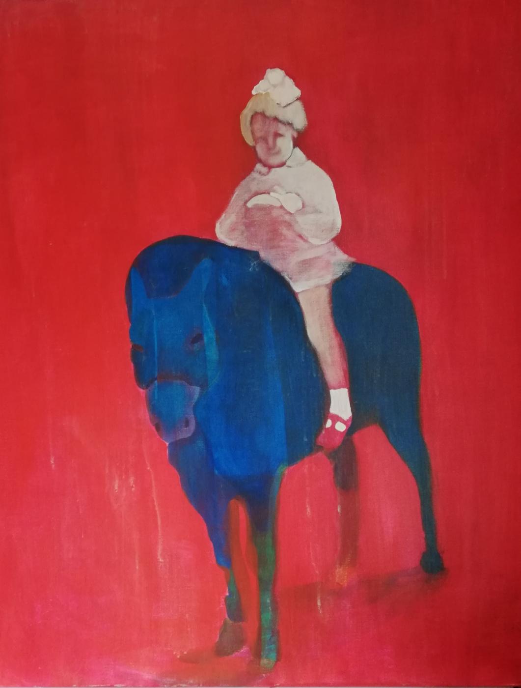 Olga Grig. Pony girl
