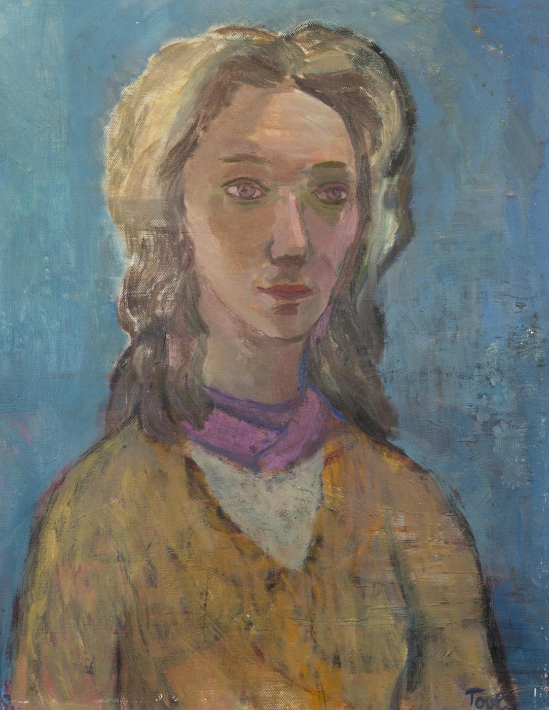Tove Jansson. Portrait of a young woman