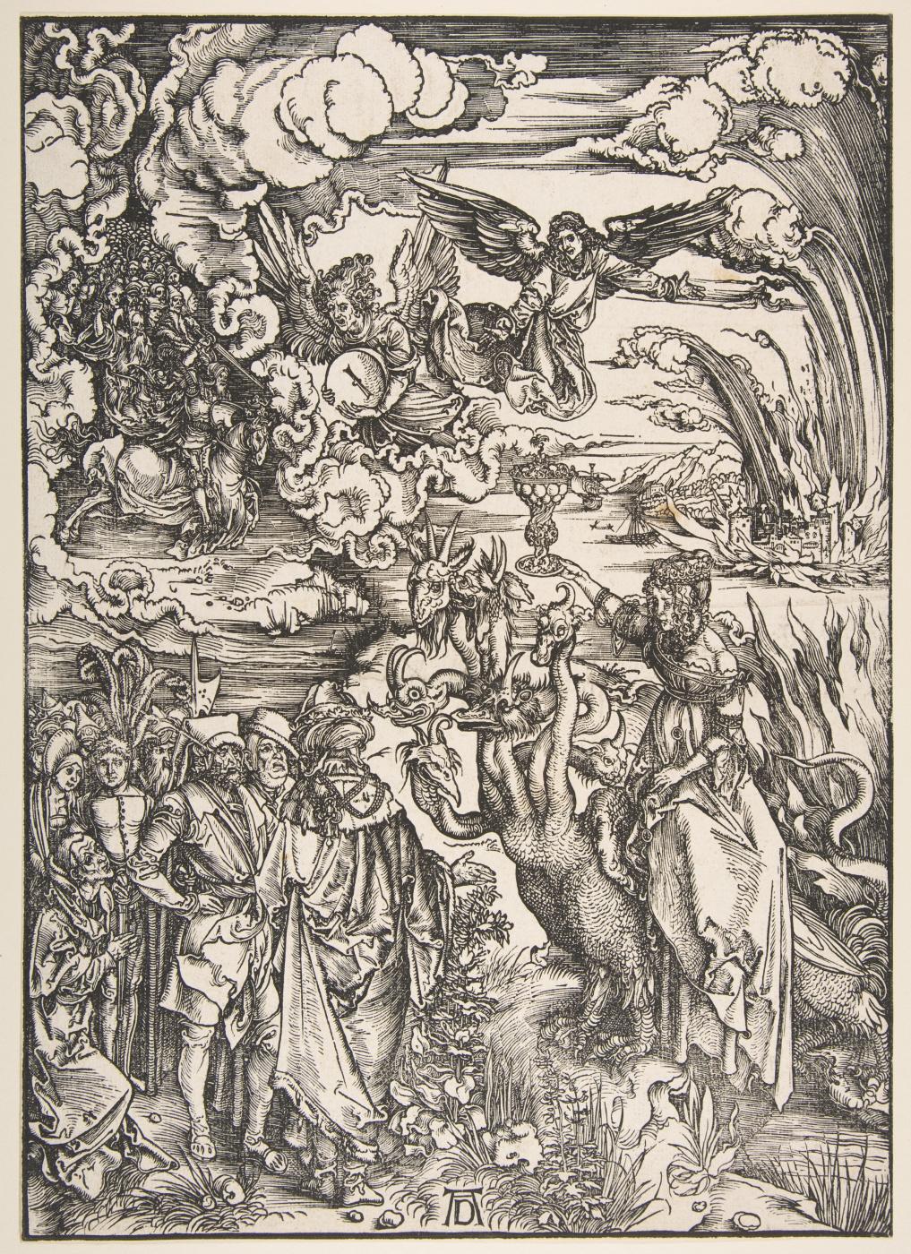 Albrecht Durer. The whore of Babylon