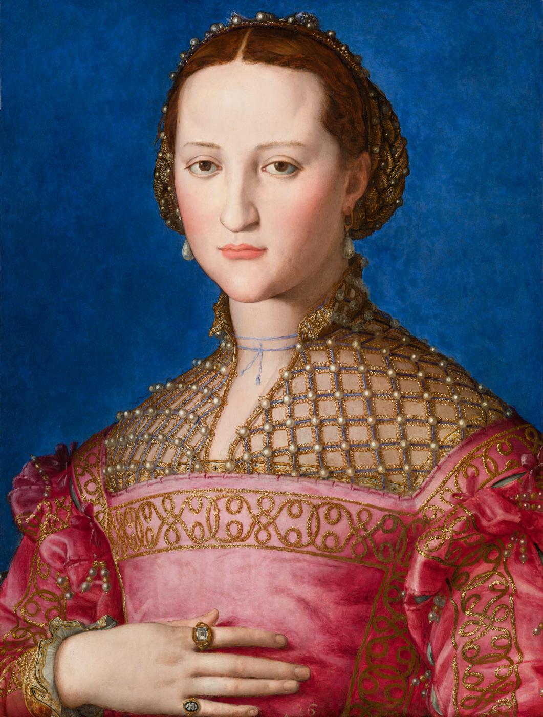 Agnolo Bronzino. Portrait of Eleanor of Toledo