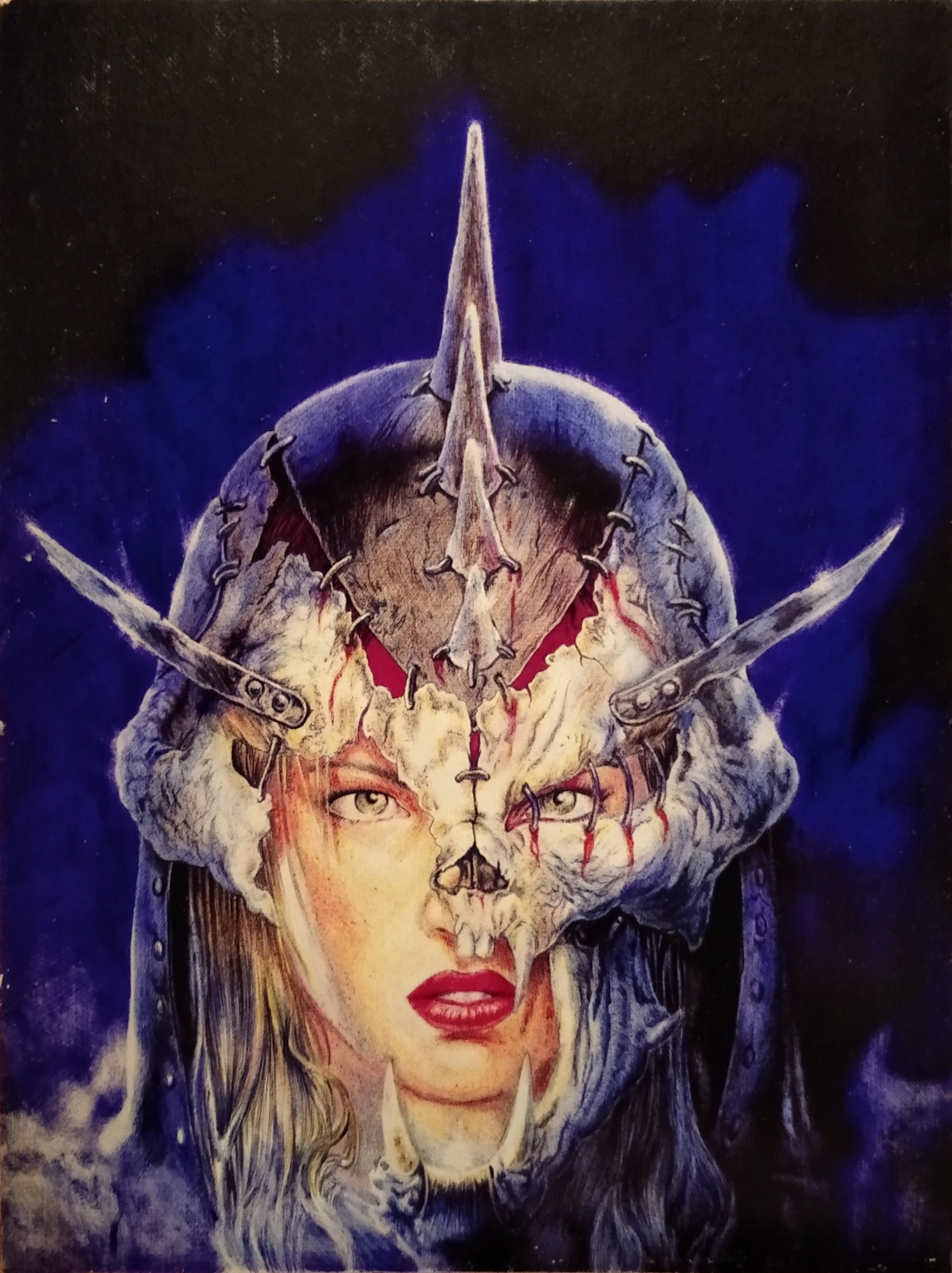 Copy of Androzy on working by Luis Royo. The vikings