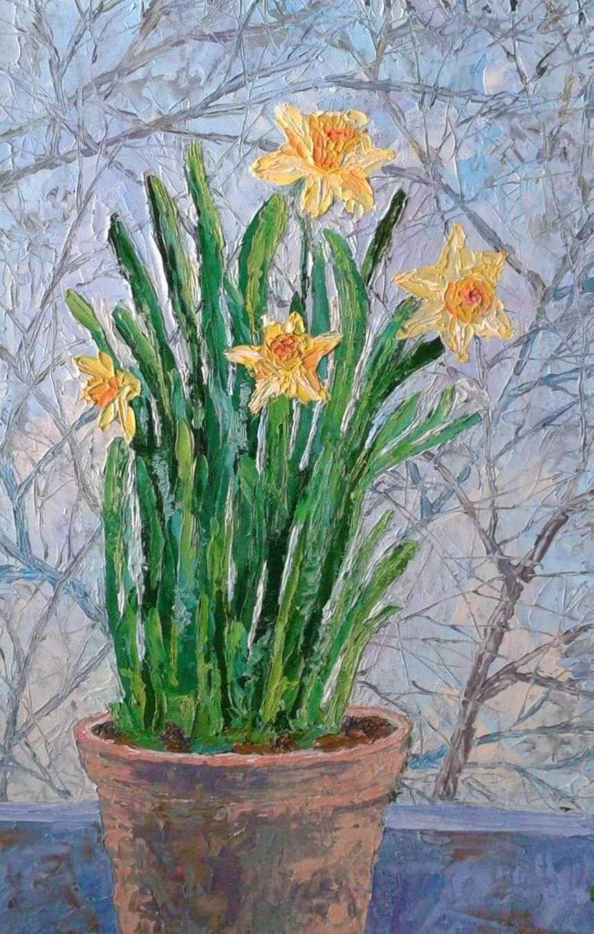 Anna. Daffodils
