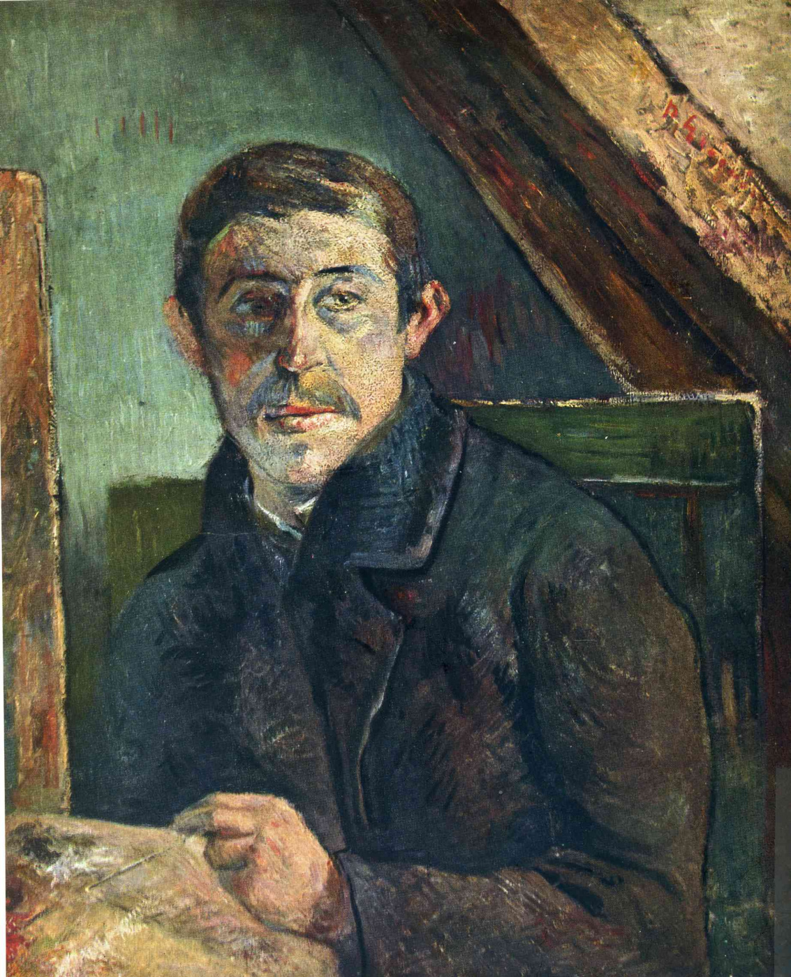 Paul Gauguin. Self-portrait