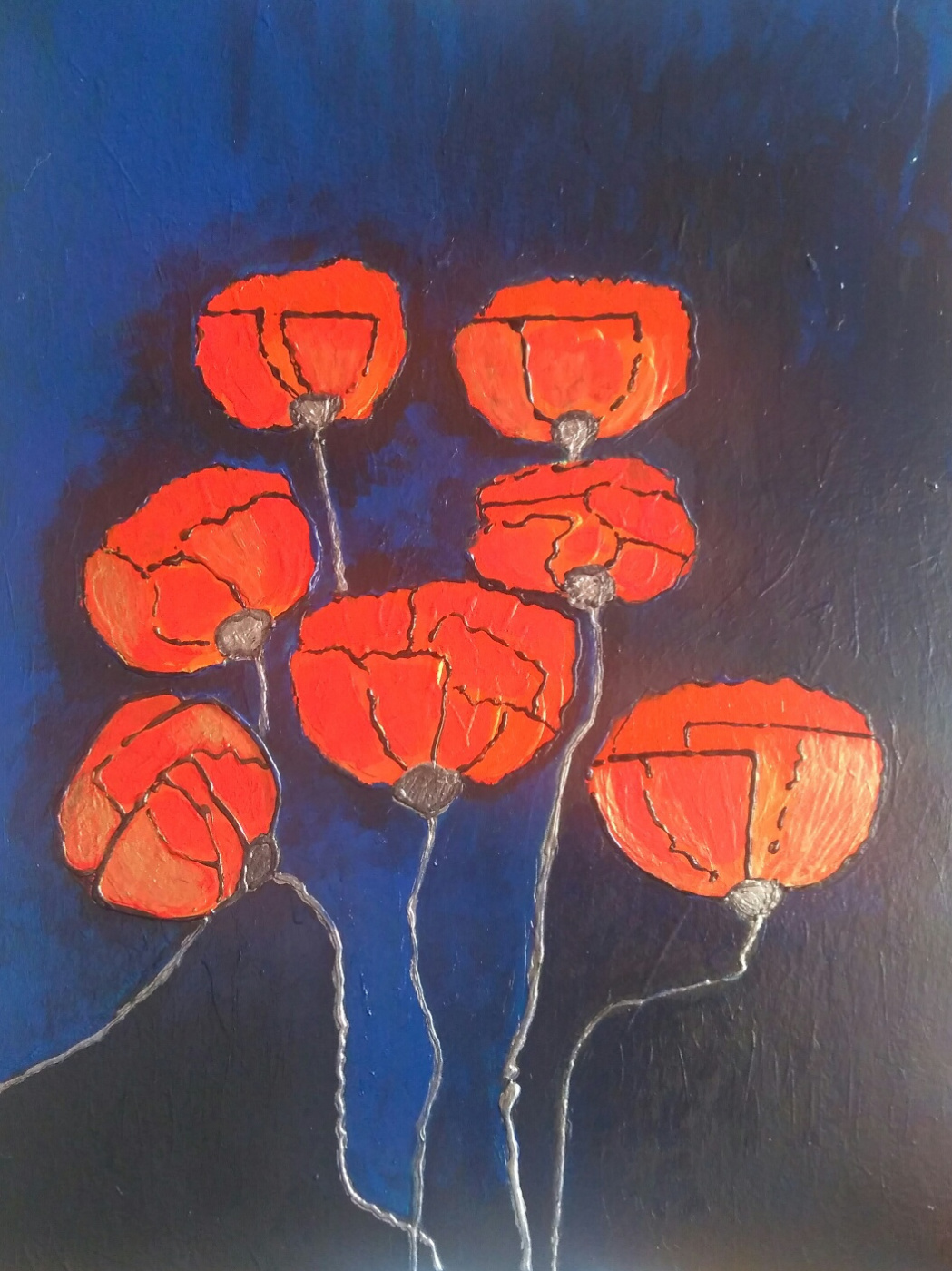 Полина Алексеевна Александрова. Golden poppies