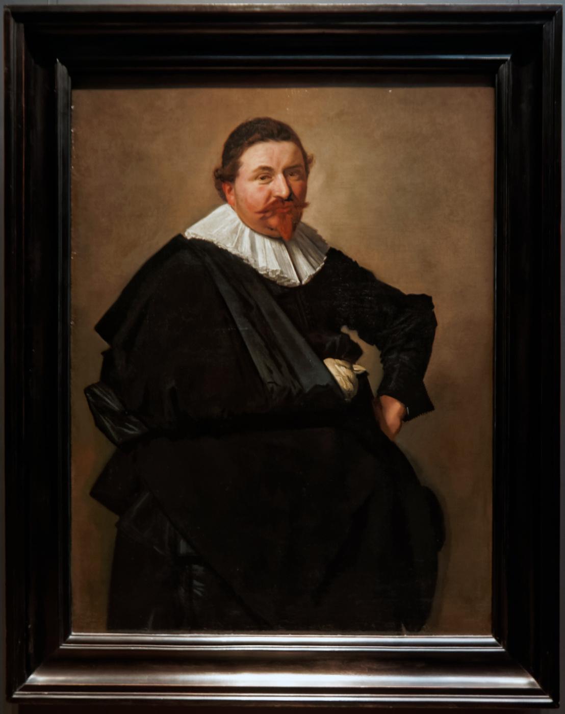 Portrait of Lucas de Klerk
