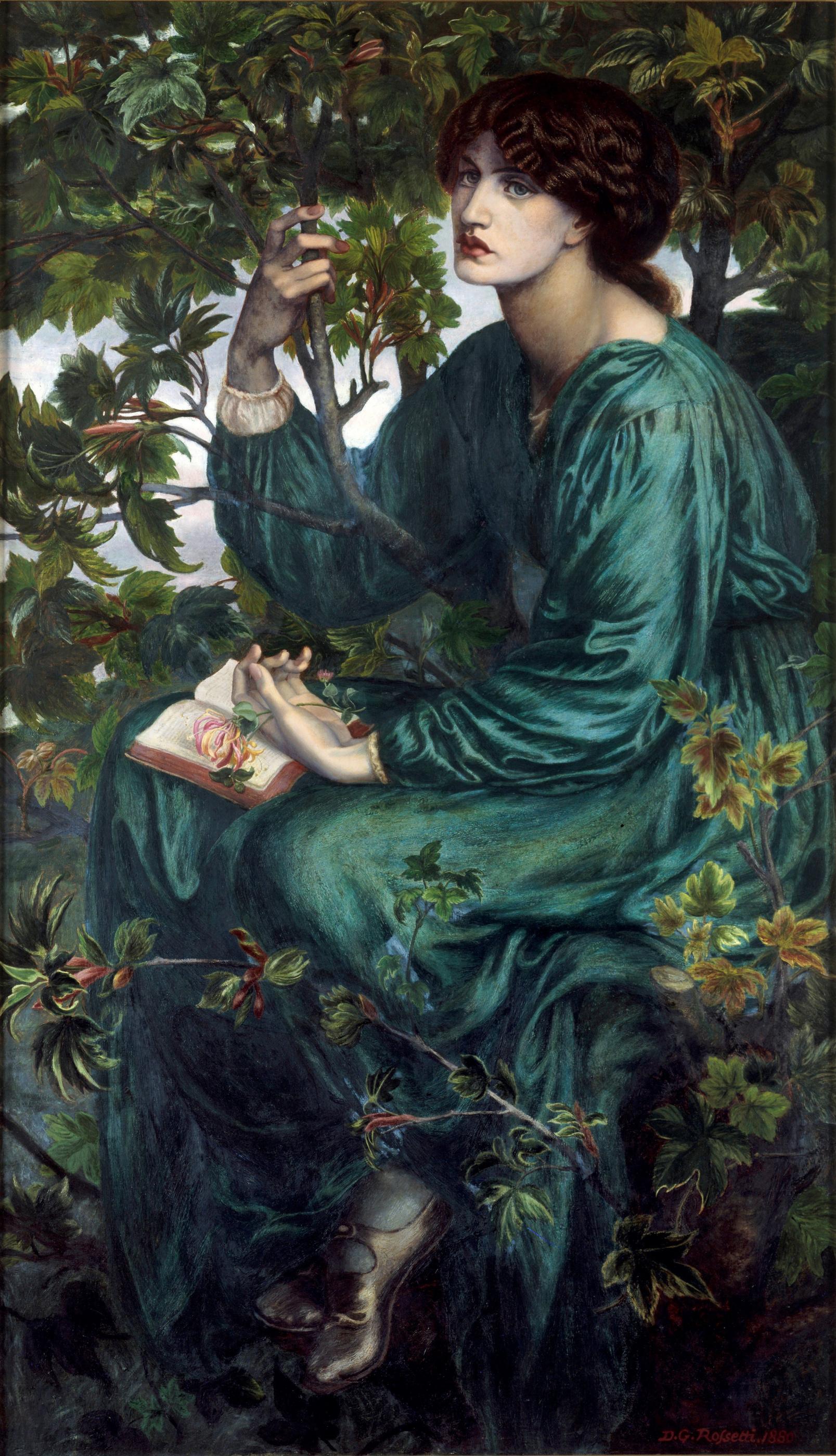 Dante Gabriel Rossetti.  Rêve en réalité (rêves de jour)