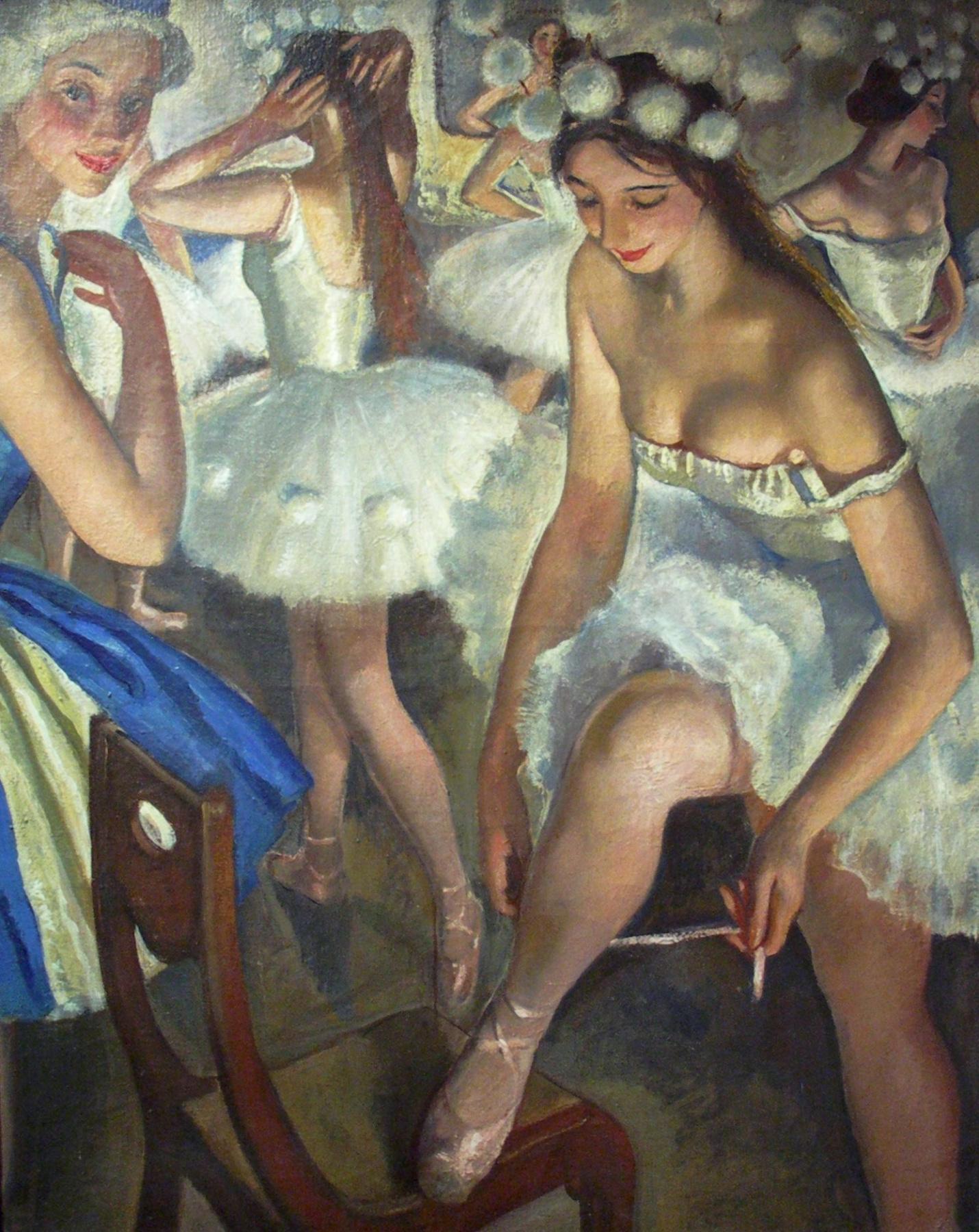 Выставка Зинаиды Серебряковой в Казани: вся жизнь - и будни, и балет