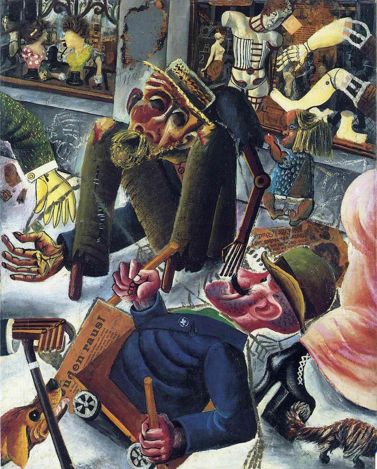До нацизма: в Италии впервые за 30 лет представлены немецкие художники Веймарской Республики