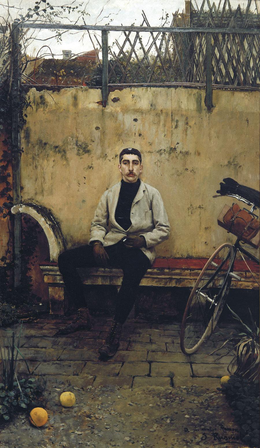 Santiago Rusignol. Ramon Casas in Paris
