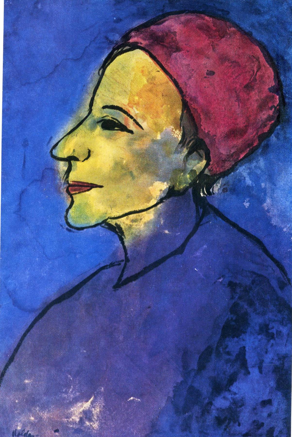Emil Nolde. Woman