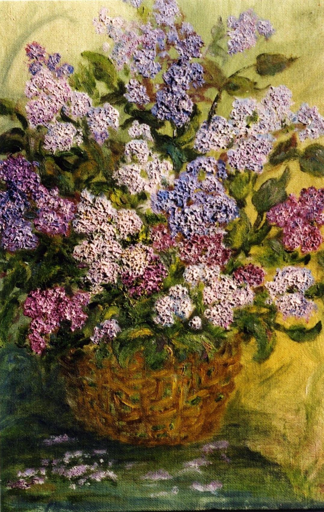 Rita Arkadievna Beckman. Lilac