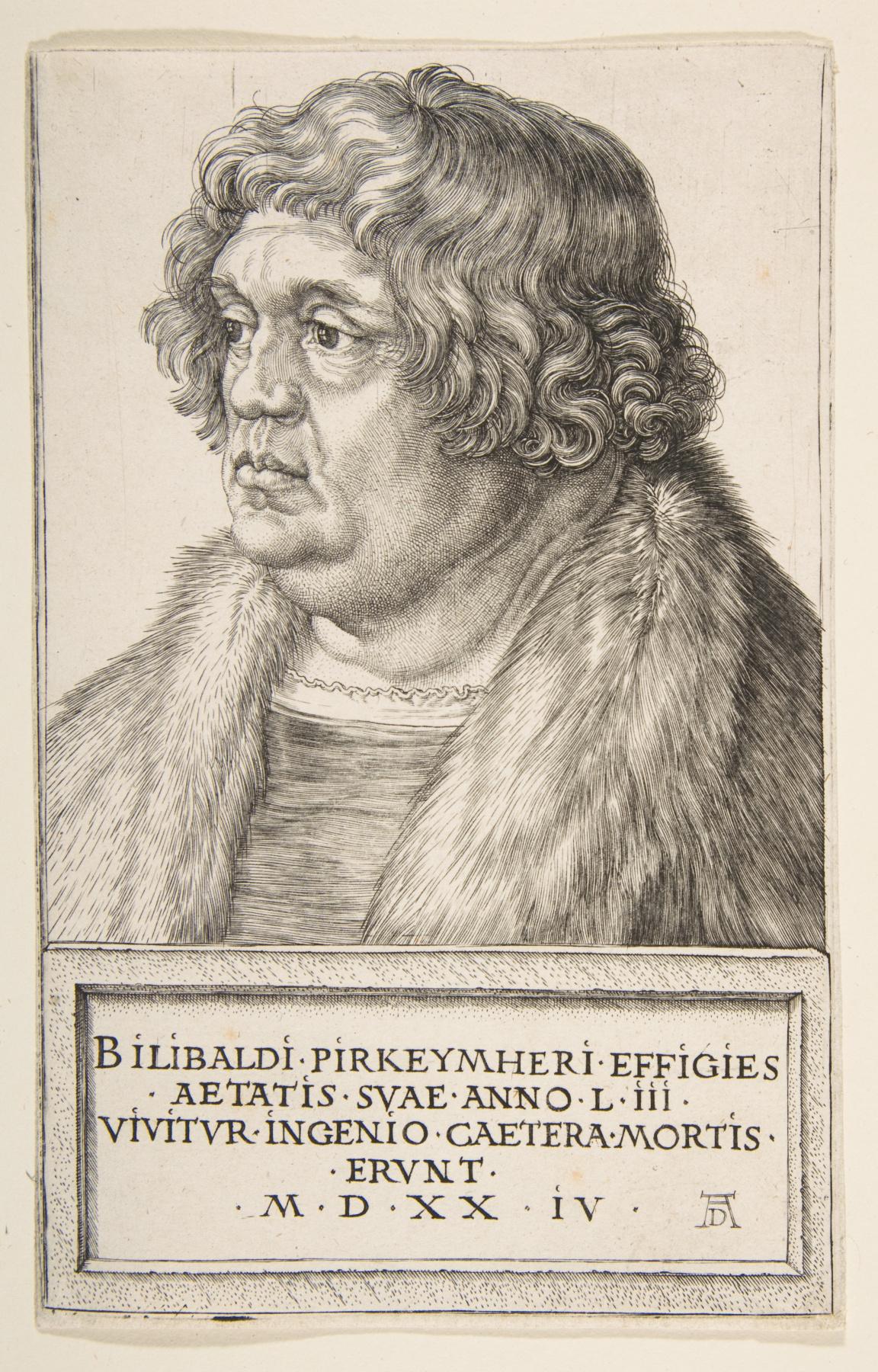 Albrecht Dürer. Portrait Of Willibald Of Pirkheimer