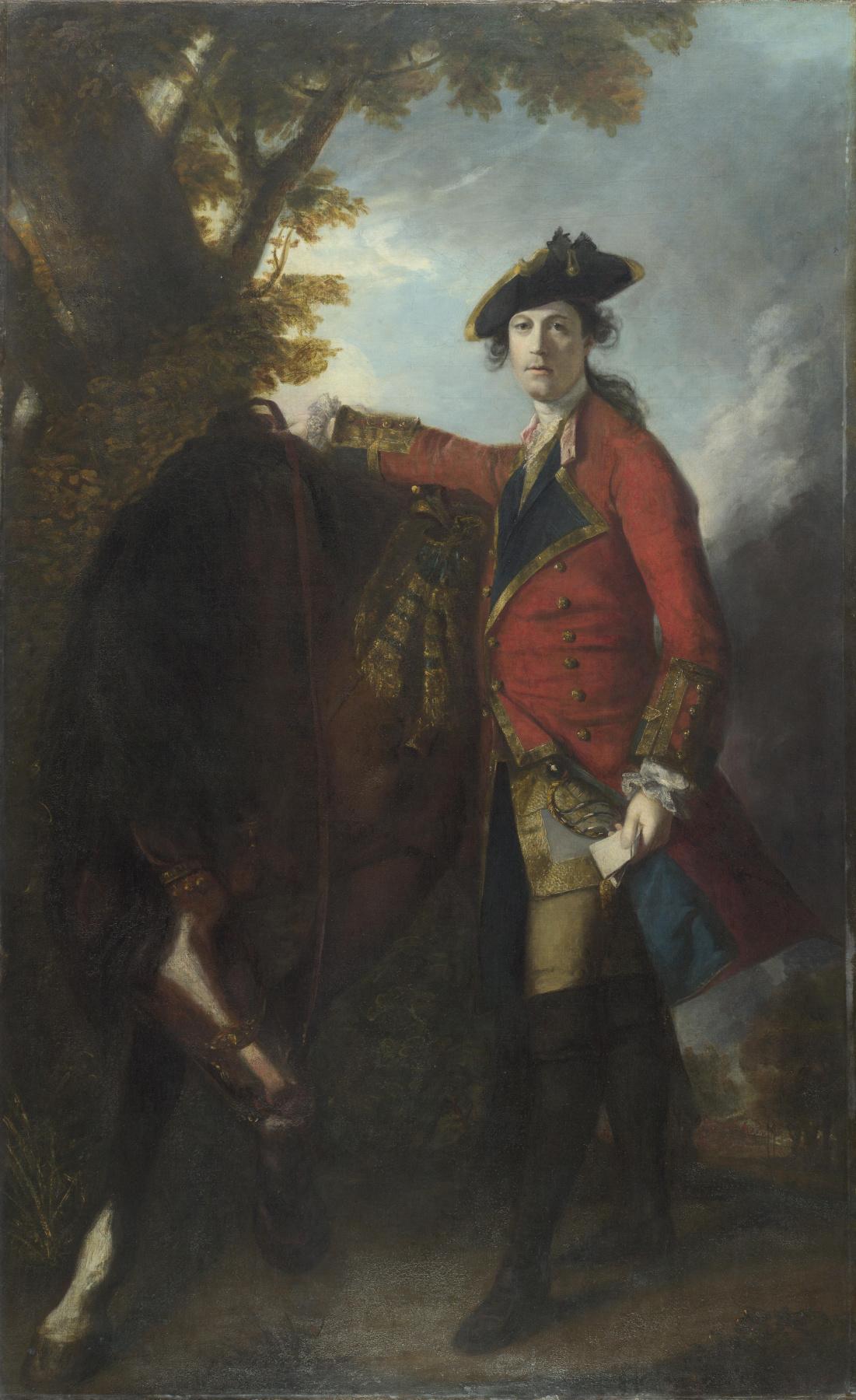 Joshua Reynolds. Captain Robert Orme