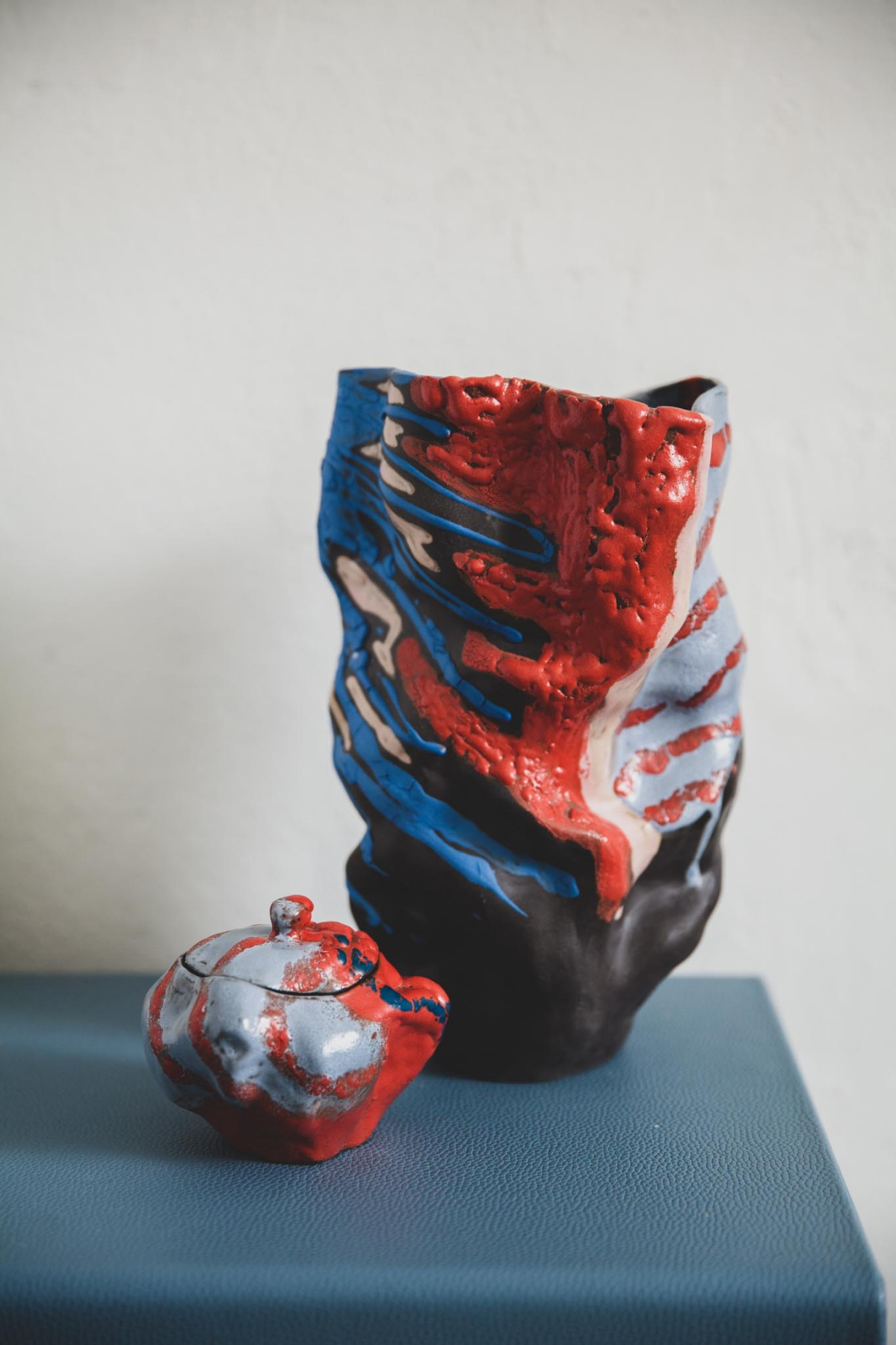 "Vase ""Storm"""