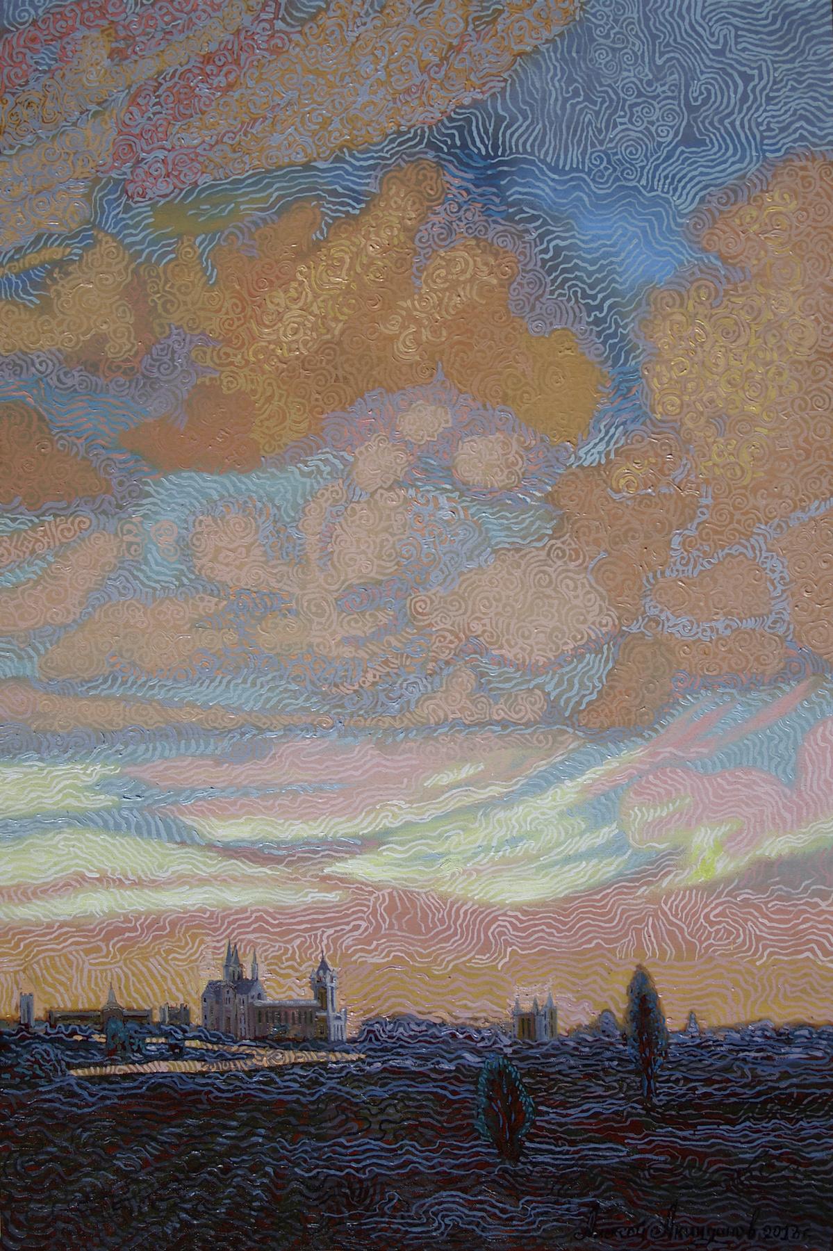 Алексей Петрович Акиндинов. The sky is one for all