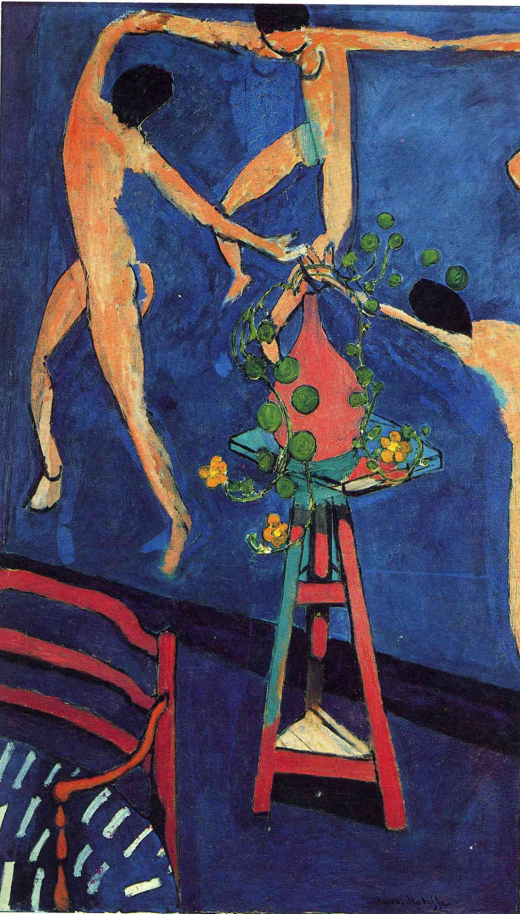 Henri Matisse. Nasturtiums. Panel The Dance