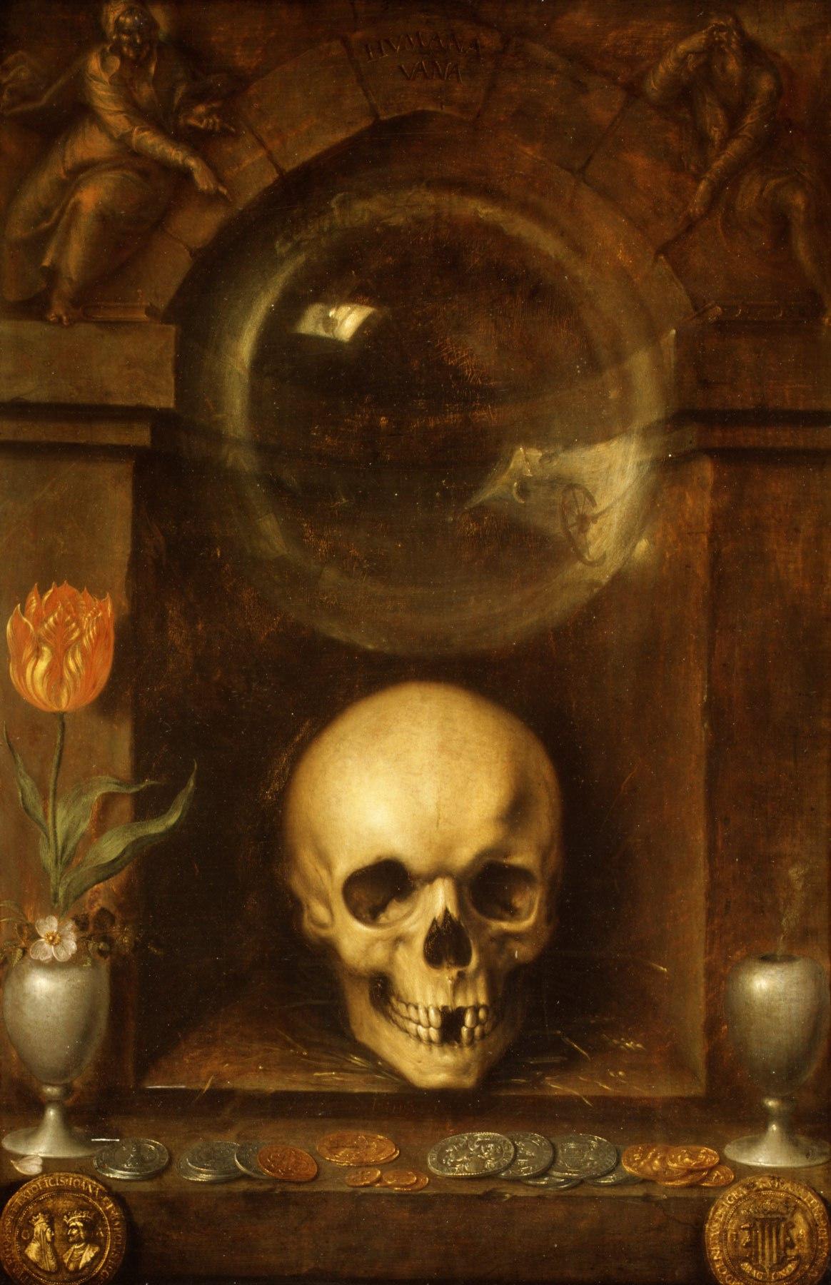 """Картинки по запросу Якоб де Гейн II """"Ванитас"""" (1603 натюрморт с черепом"""