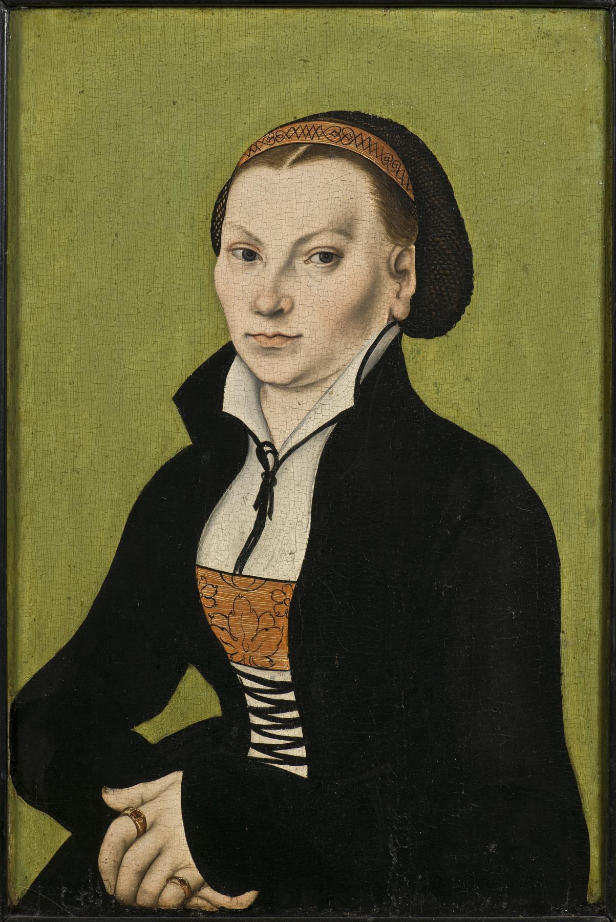 Lucas Cranach the Elder. Katharina von Bora, wife of Martin Luther