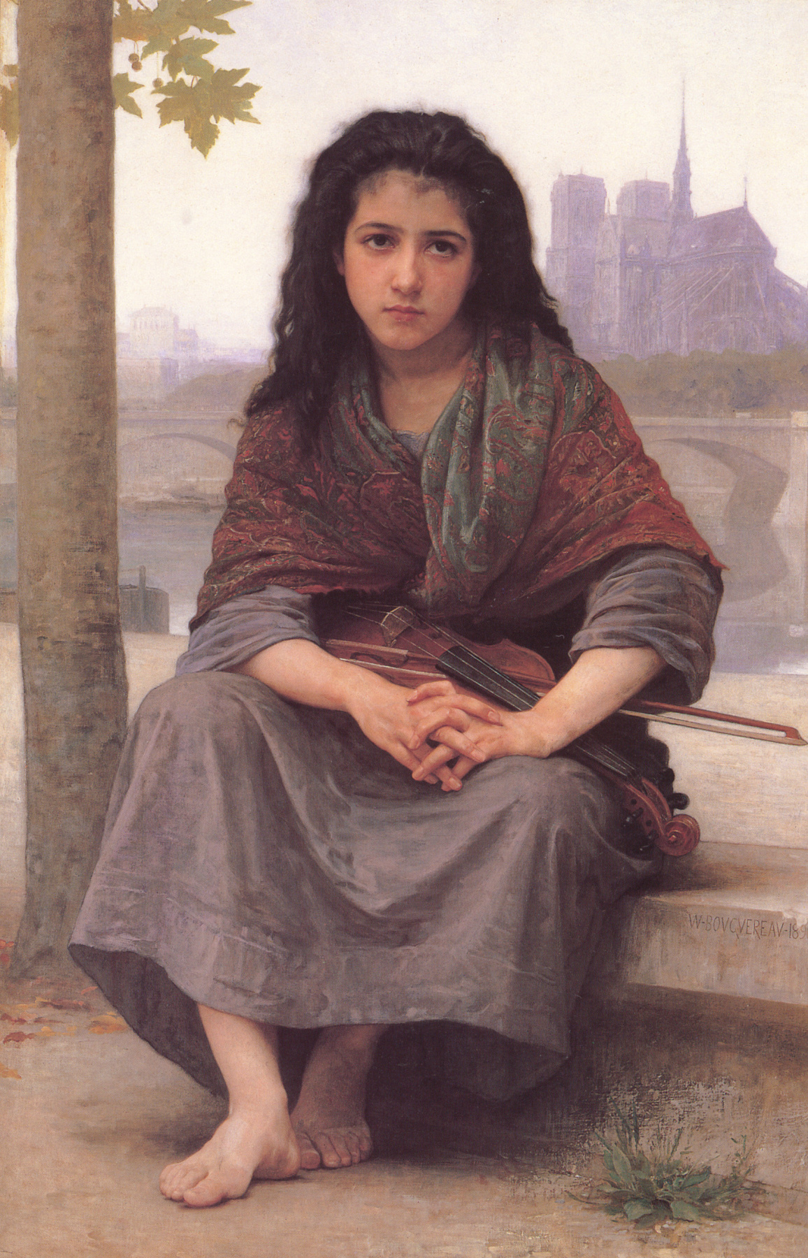 William-Adolphe Bouguereau. Gypsy