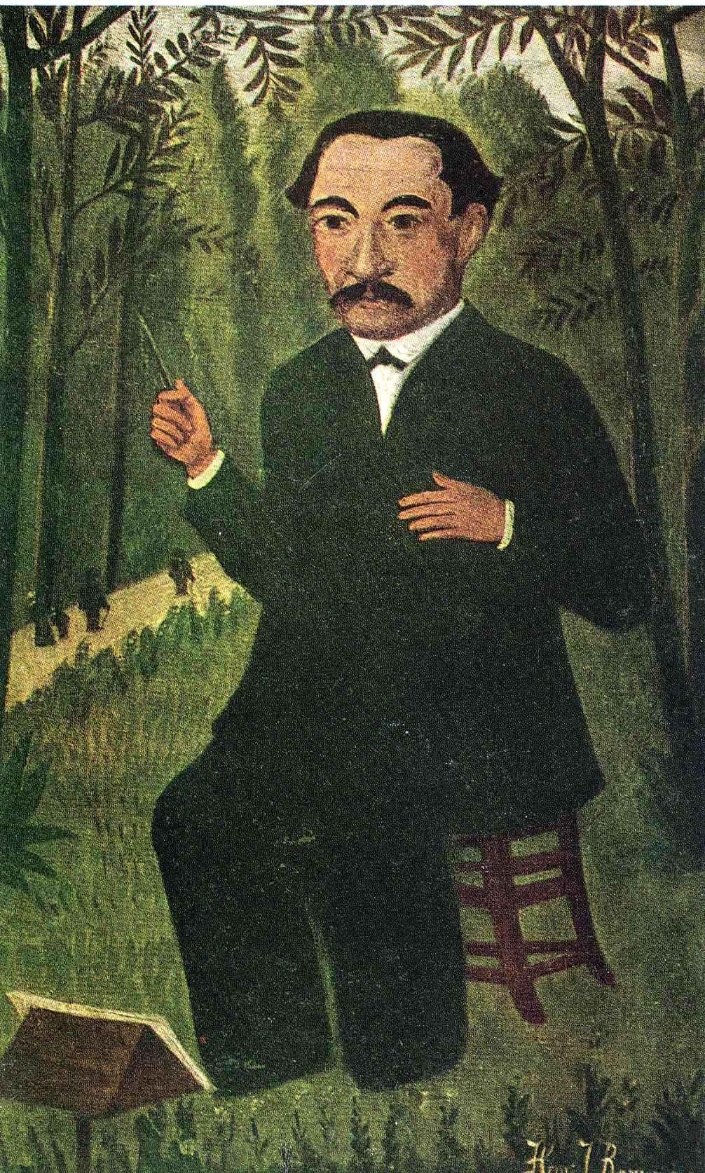 Henri Rousseau. Henri Rousseau, as a conductor