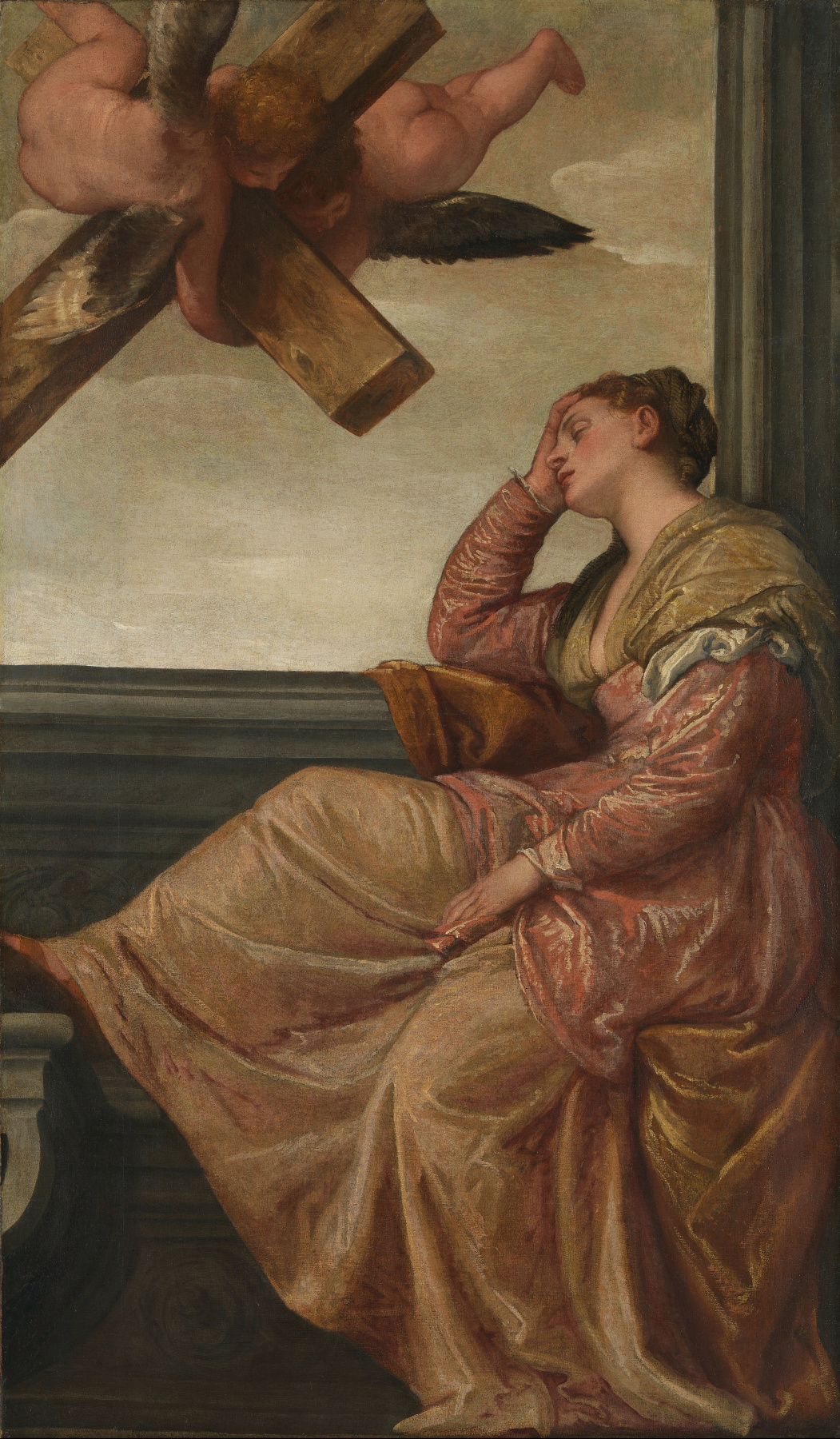 Paolo Veronese. Sleep of saint helena