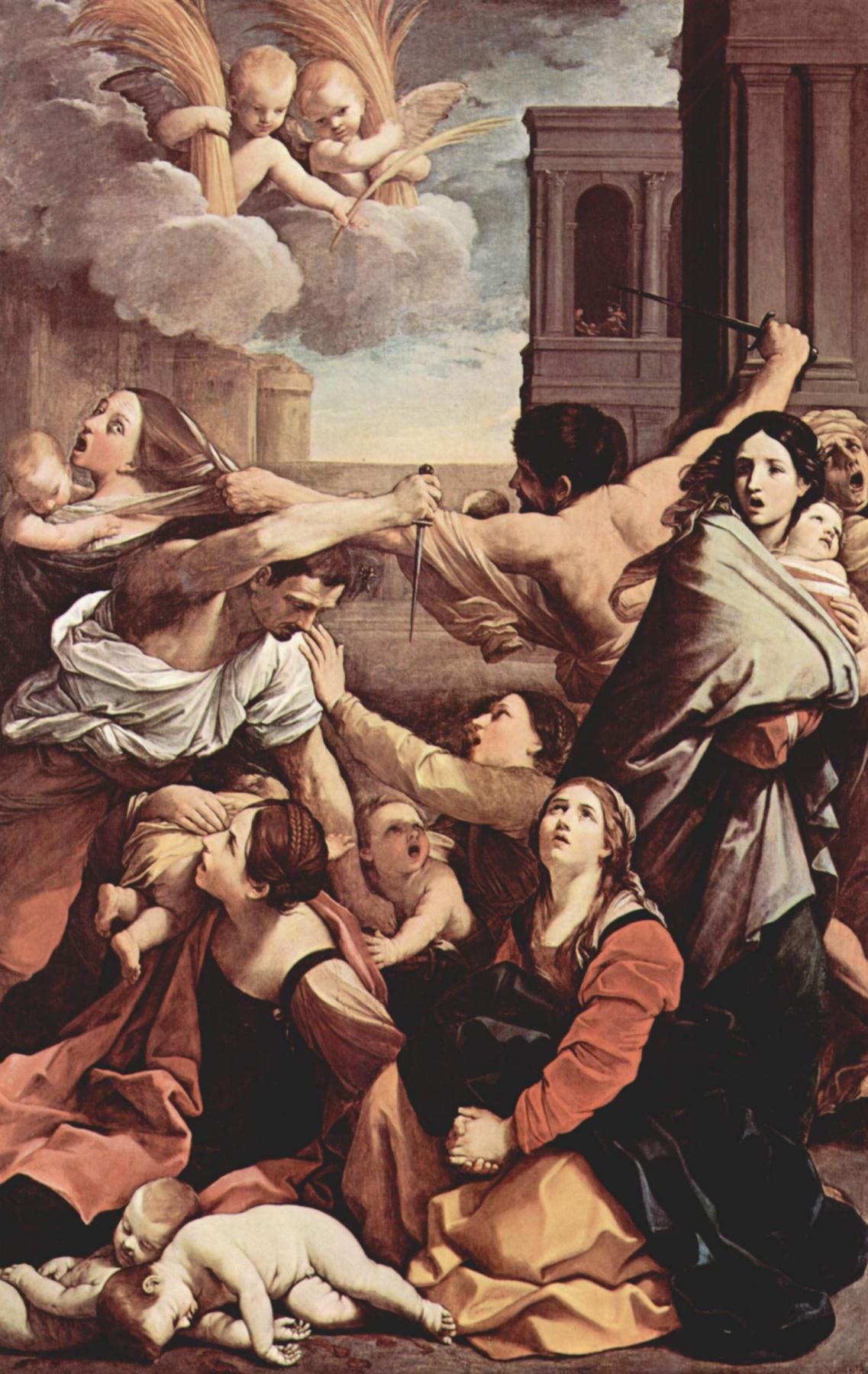 Guido Reni. The massacre of the innocents