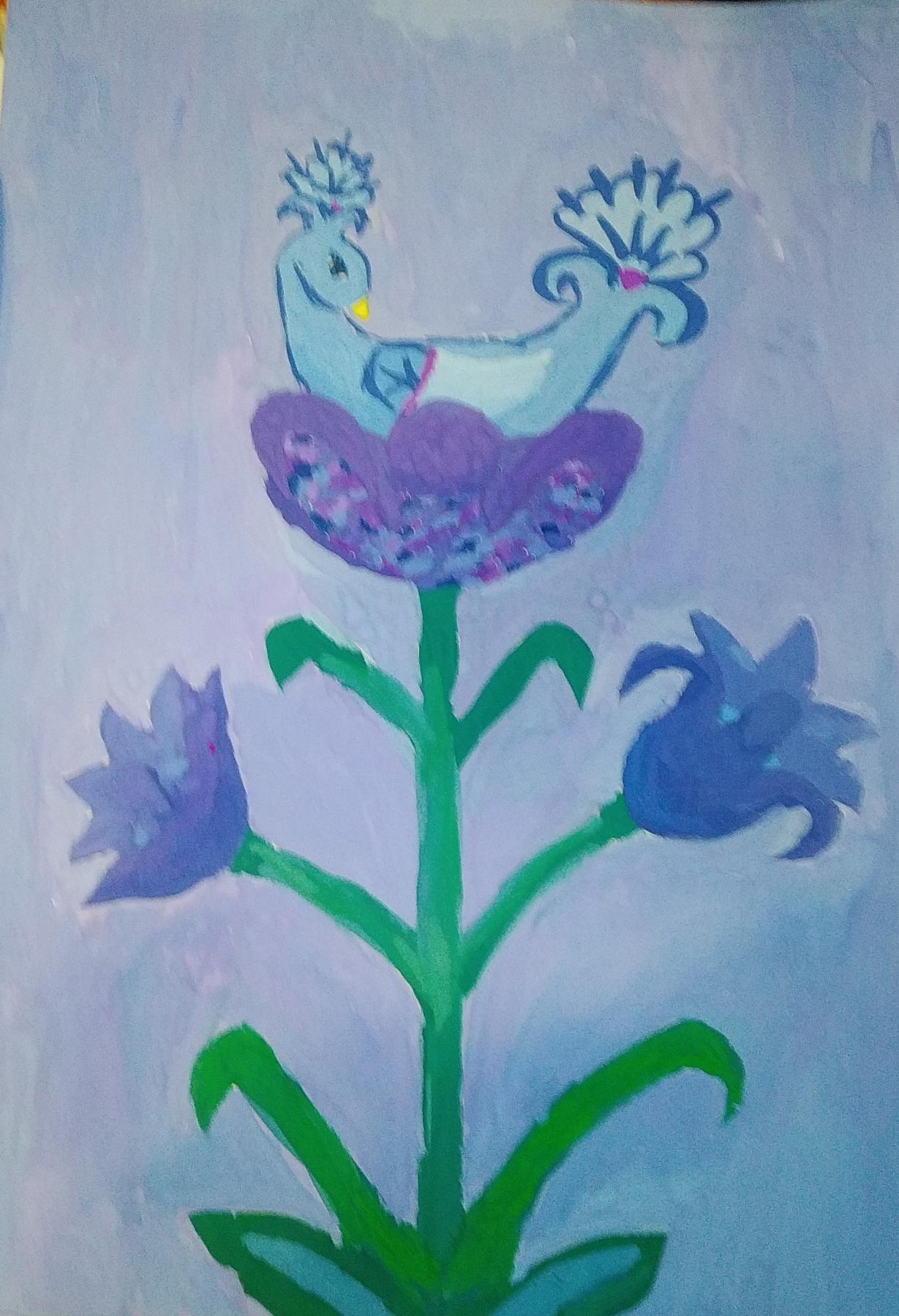 Zina Vladimirovna Parisva. Birds of happiness