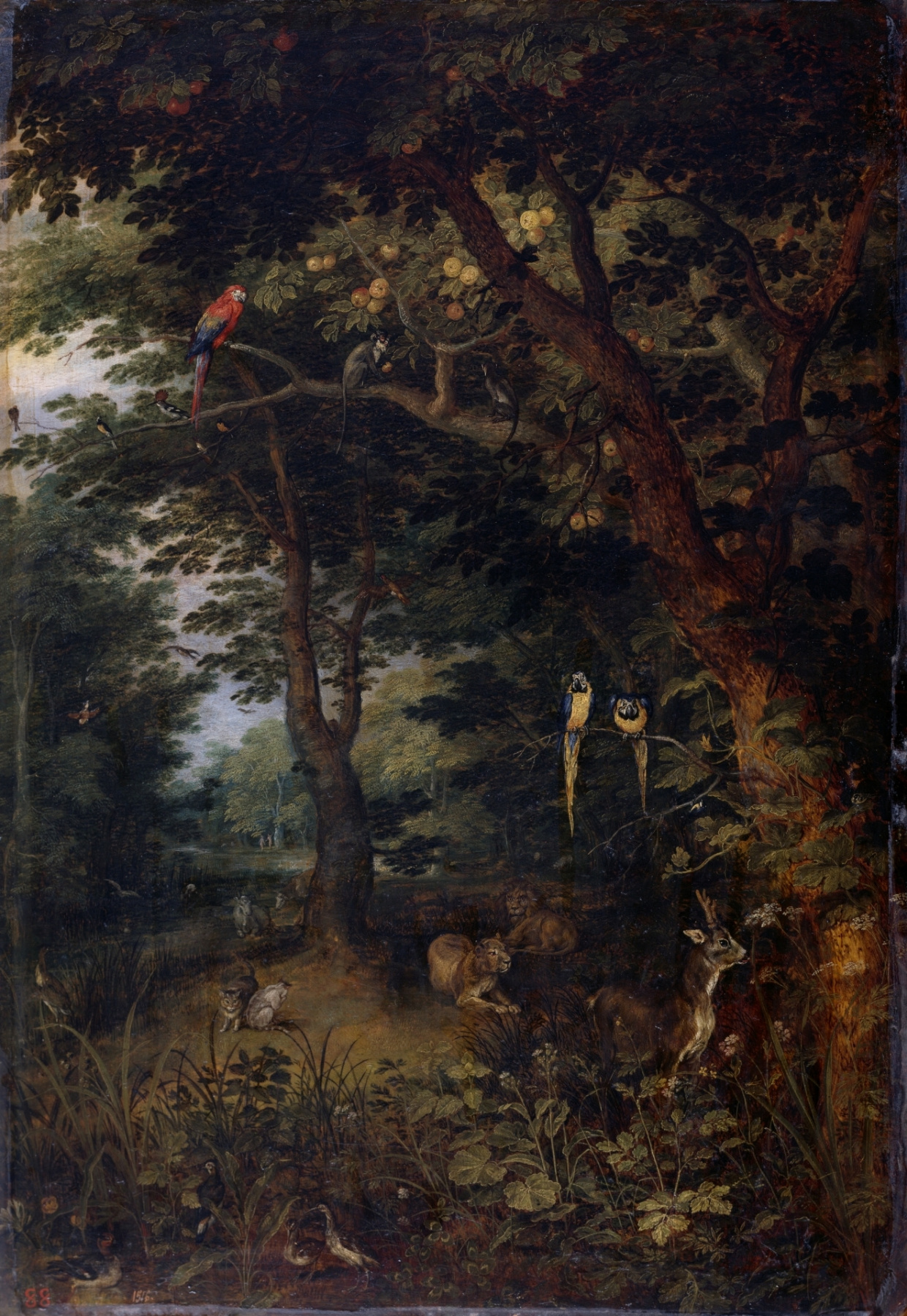 Jan Brueghel the Younger. Heaven on earth