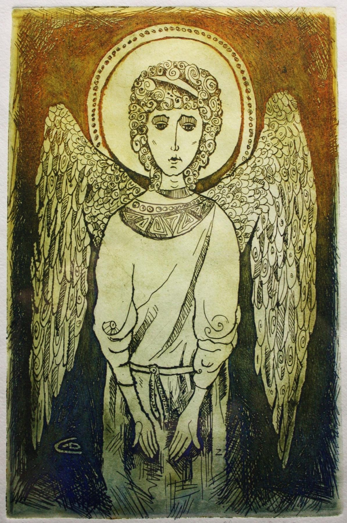 Alexander Dmitrievich Svistunov. Angel