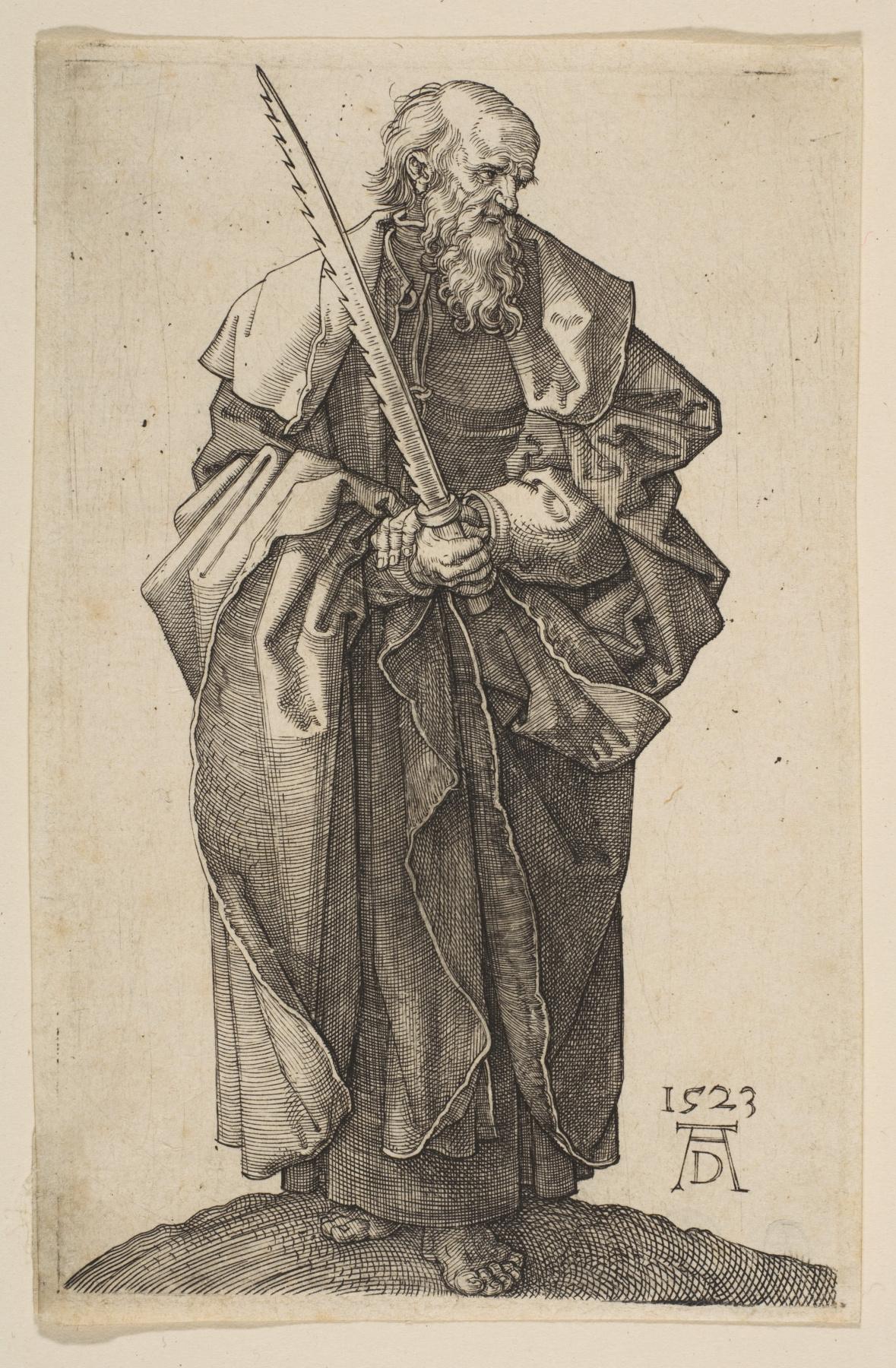 Albrecht Durer. The Apostle Simon