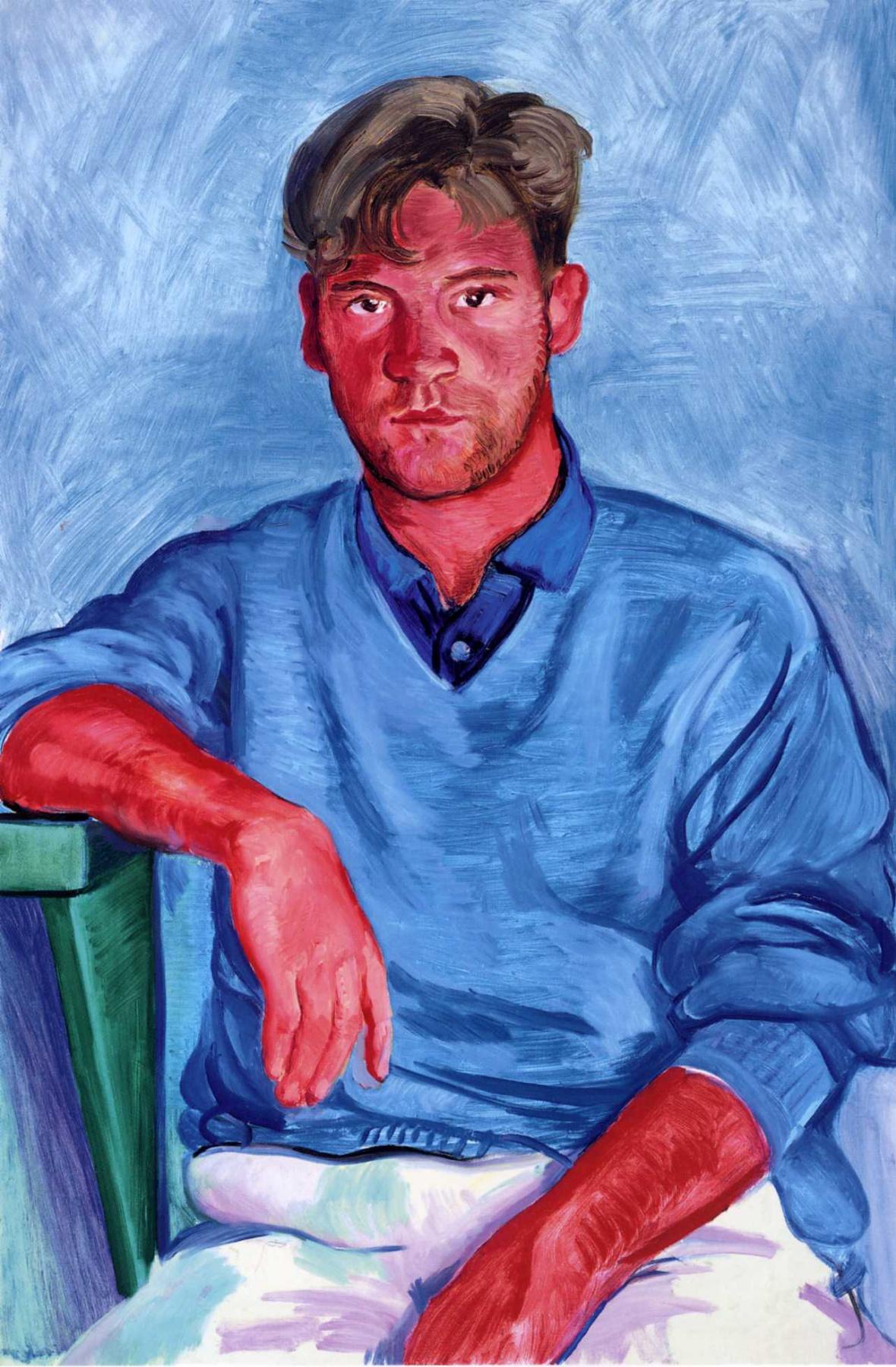 David Hockney. John Fitzherbert