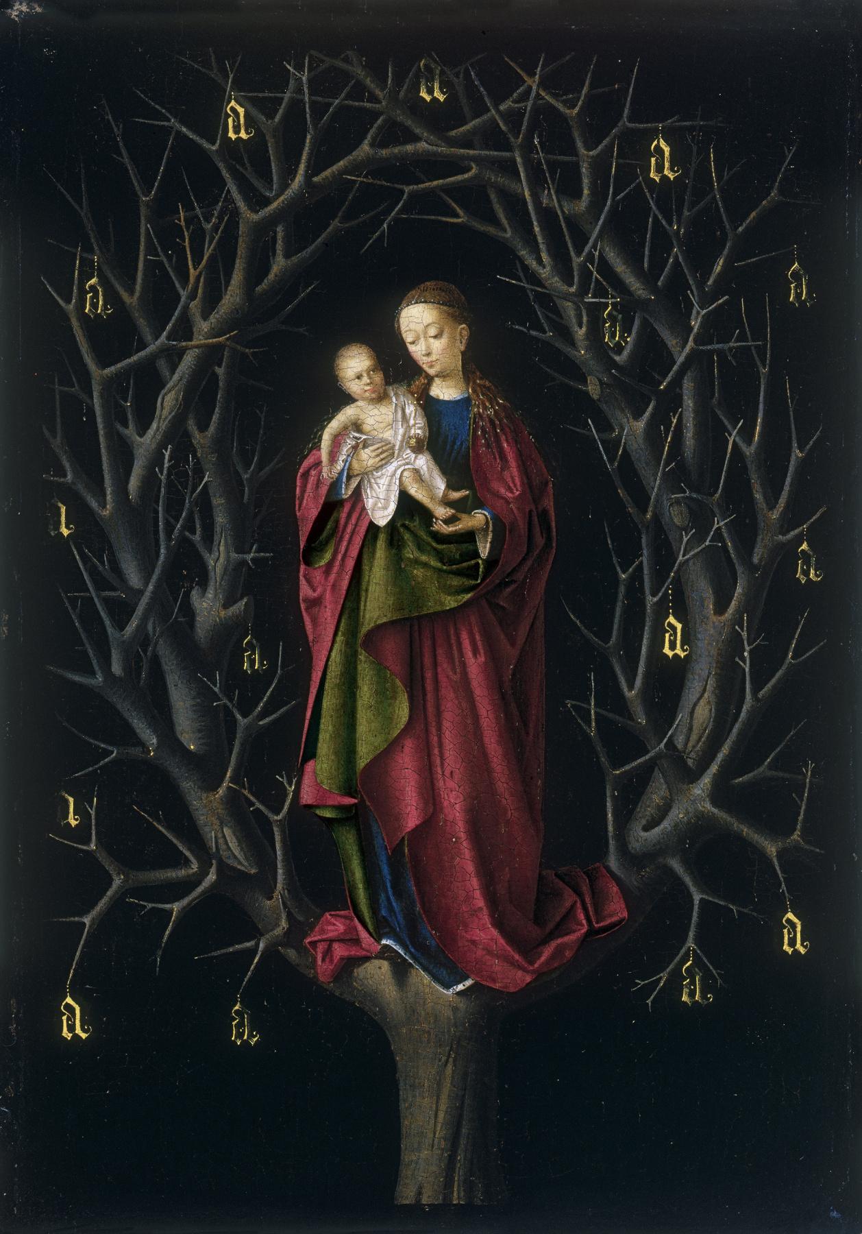 Petrus Christus. The Virgin of the dry Tree