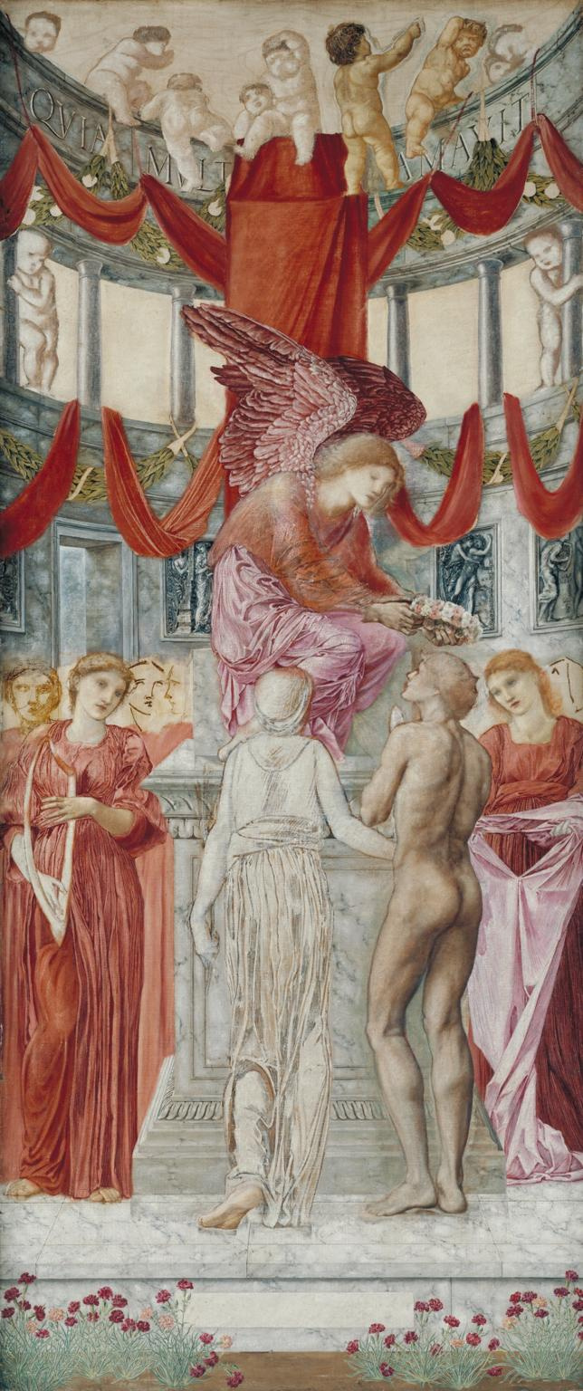 Edward Coley Burne-Jones. The Temple of Love