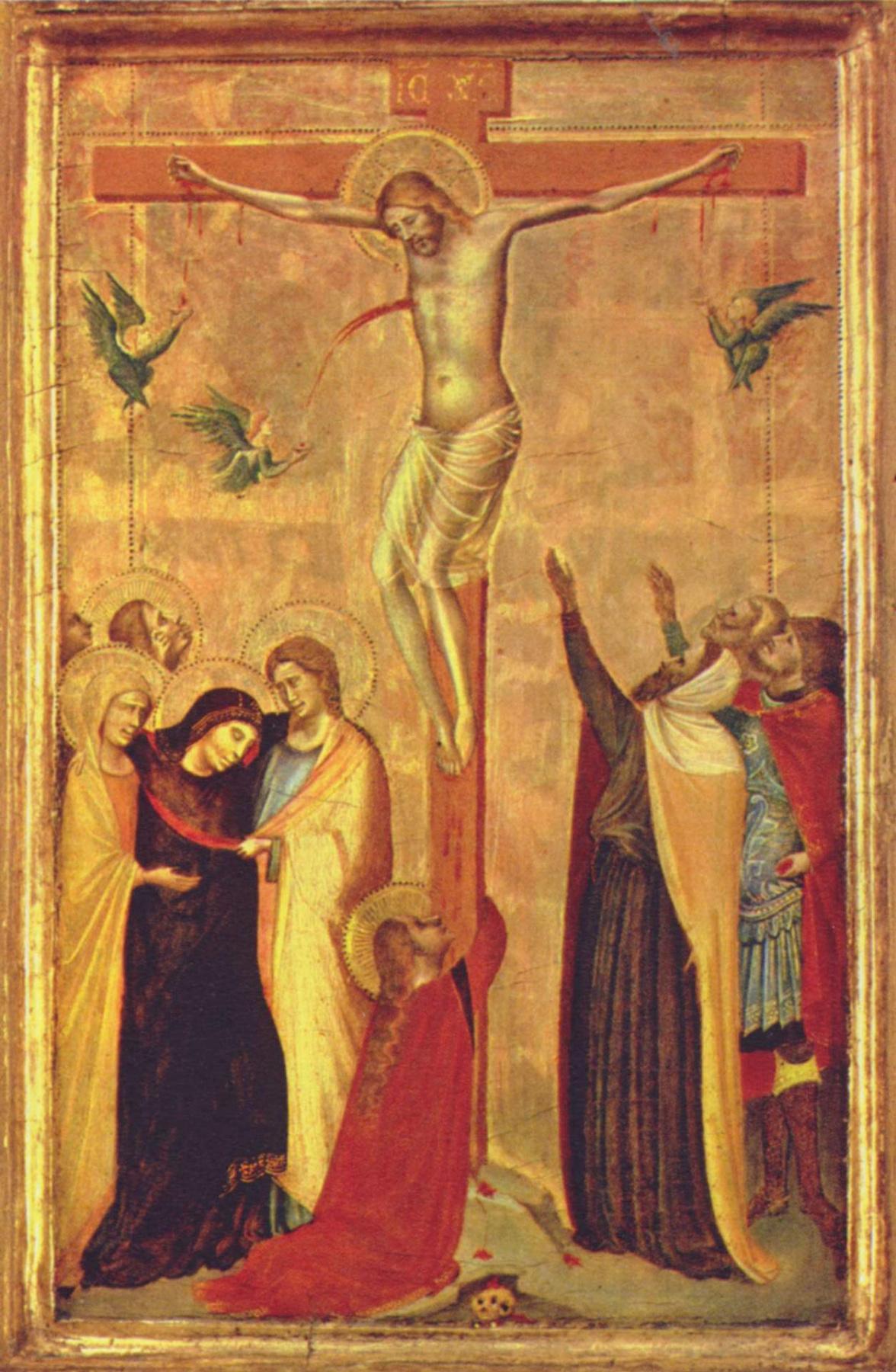 Bernardo Daddy. The crucifixion