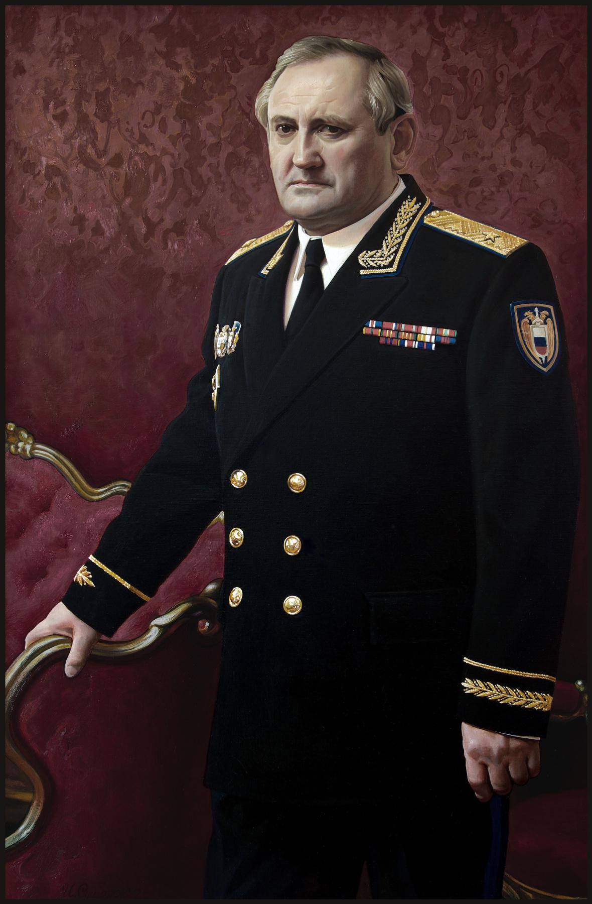 Sushienok64 @ mail.ru Mikhailovich Sushenok Igor. Portrait of the general