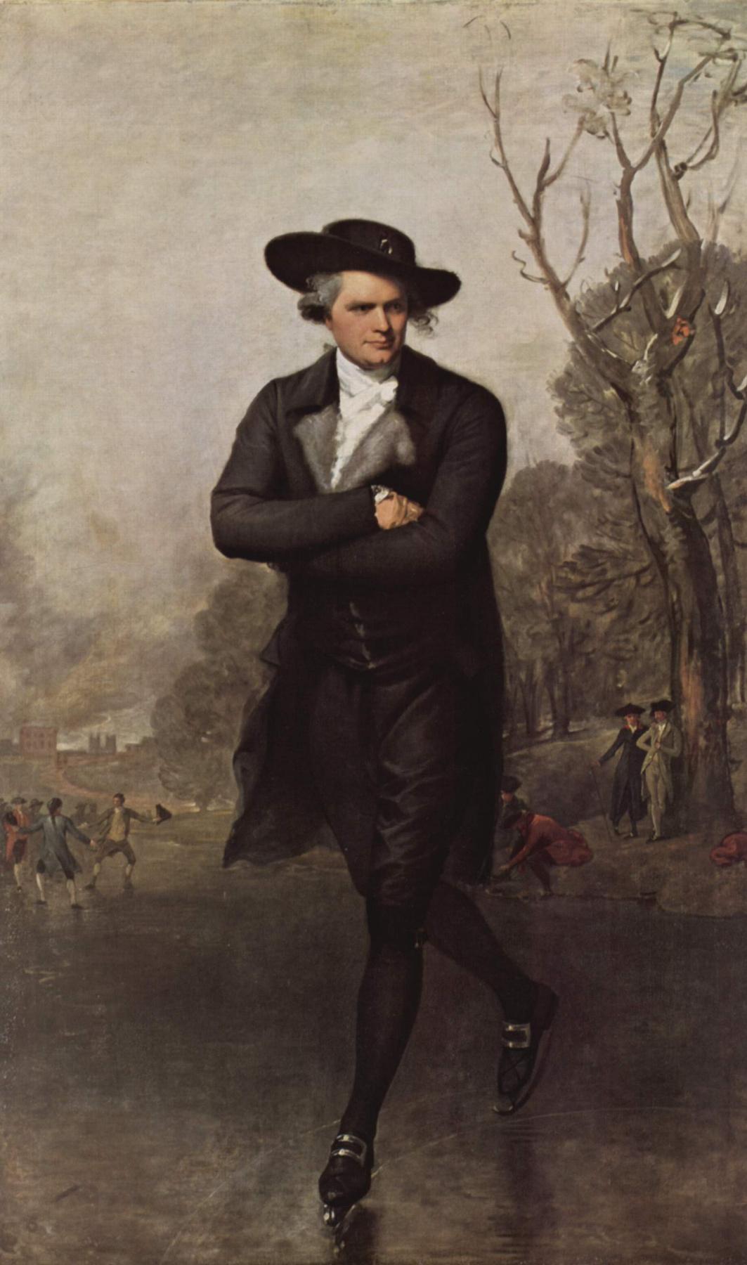 Gilbert Stuart. Skater