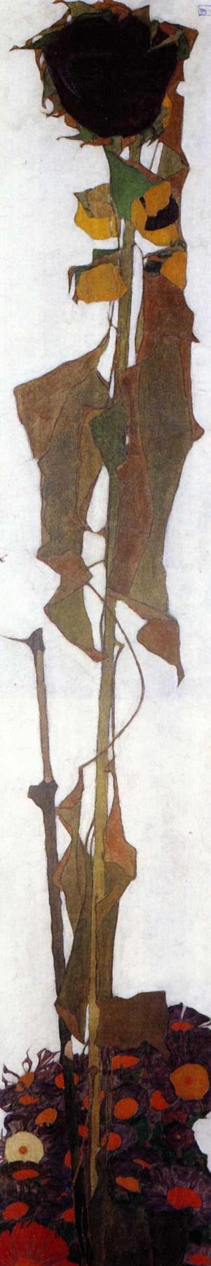 Egon Schiele. Sunflower
