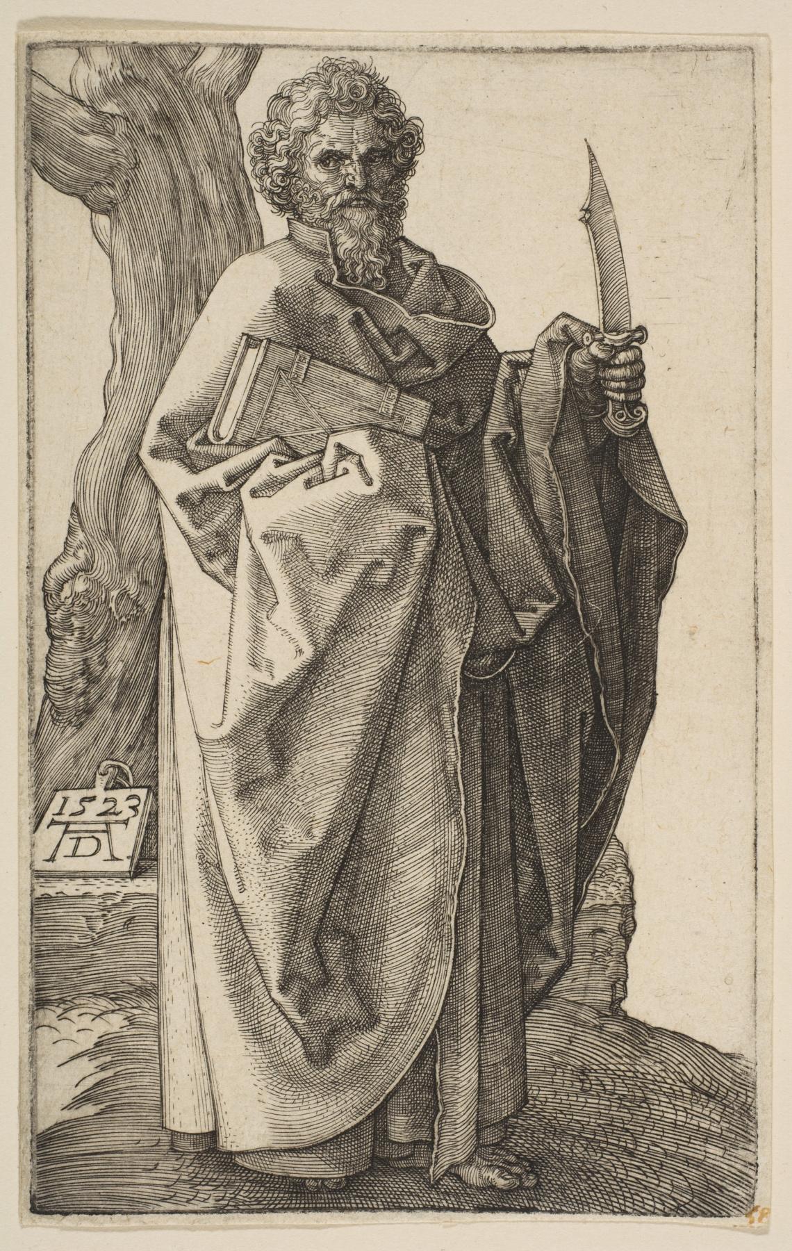 Albrecht Dürer. Saint Bartholomew